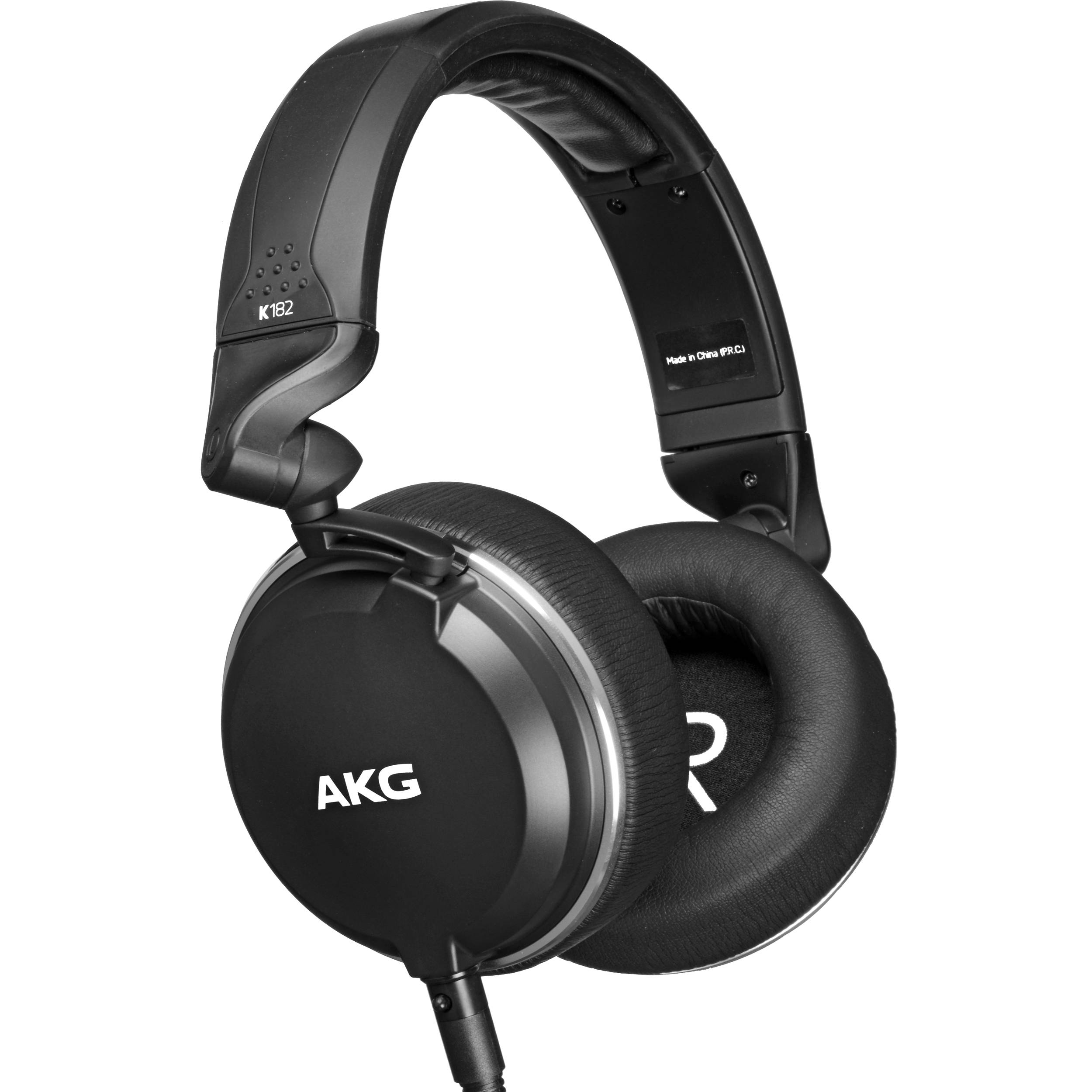813e4390a00 AKG K182 - Professional Closed-Back Monitor Headphones