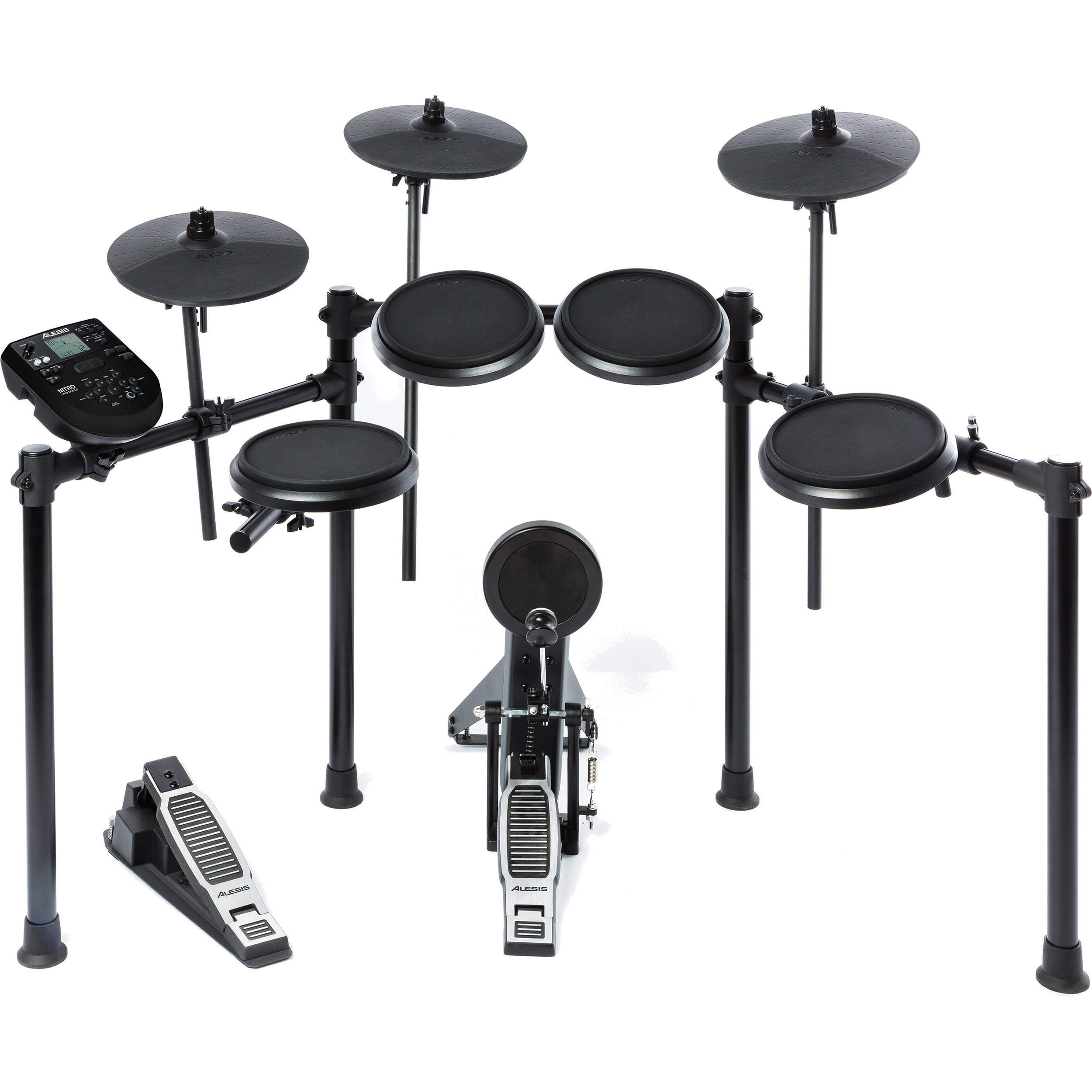 Alesis Nitro Drum Kit 8 Piece Electronic Bh Kits Hobby With Module