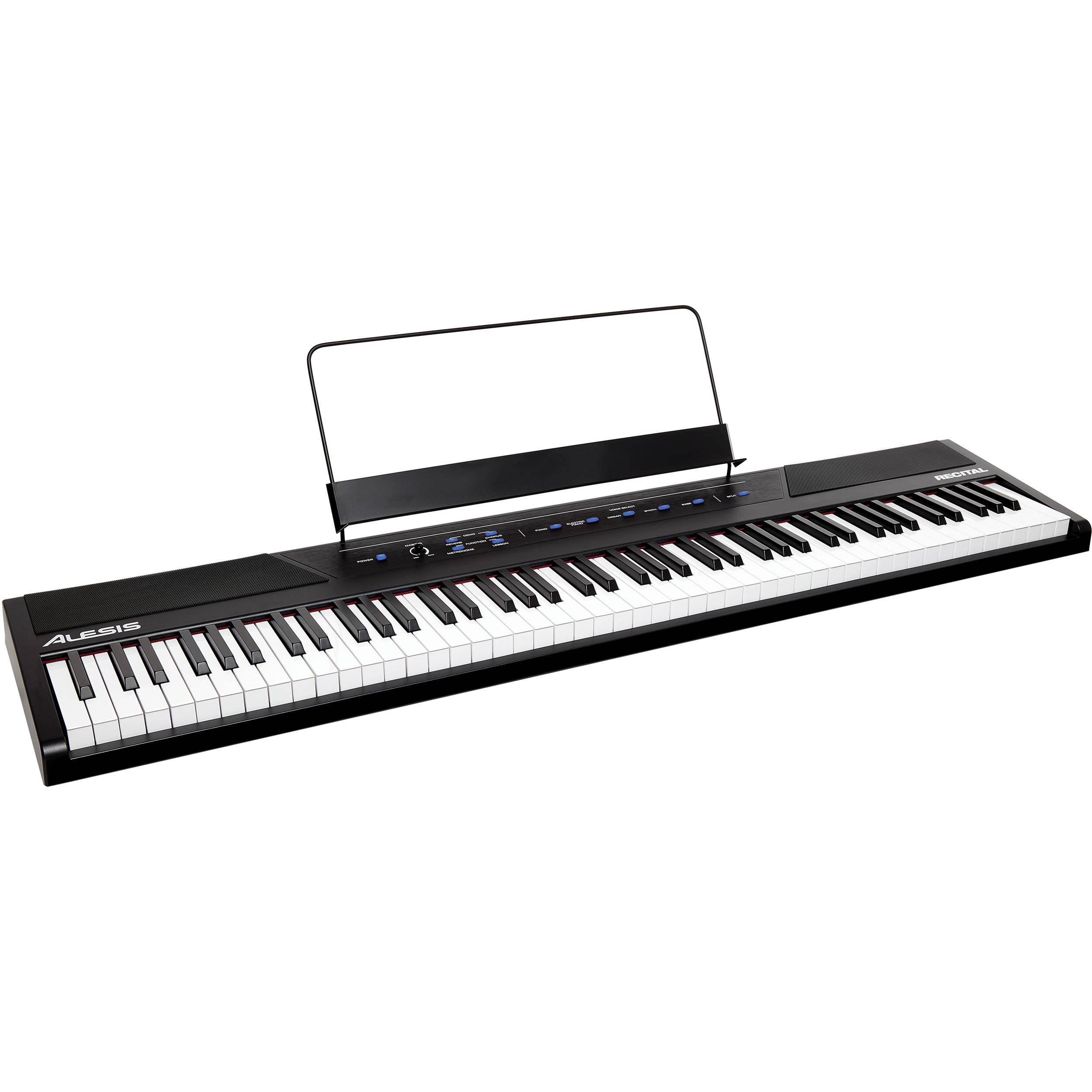 Digital Piano Weighted 88 Keys : alesis recital 88 key digital piano with full sized keys recital ~ Russianpoet.info Haus und Dekorationen