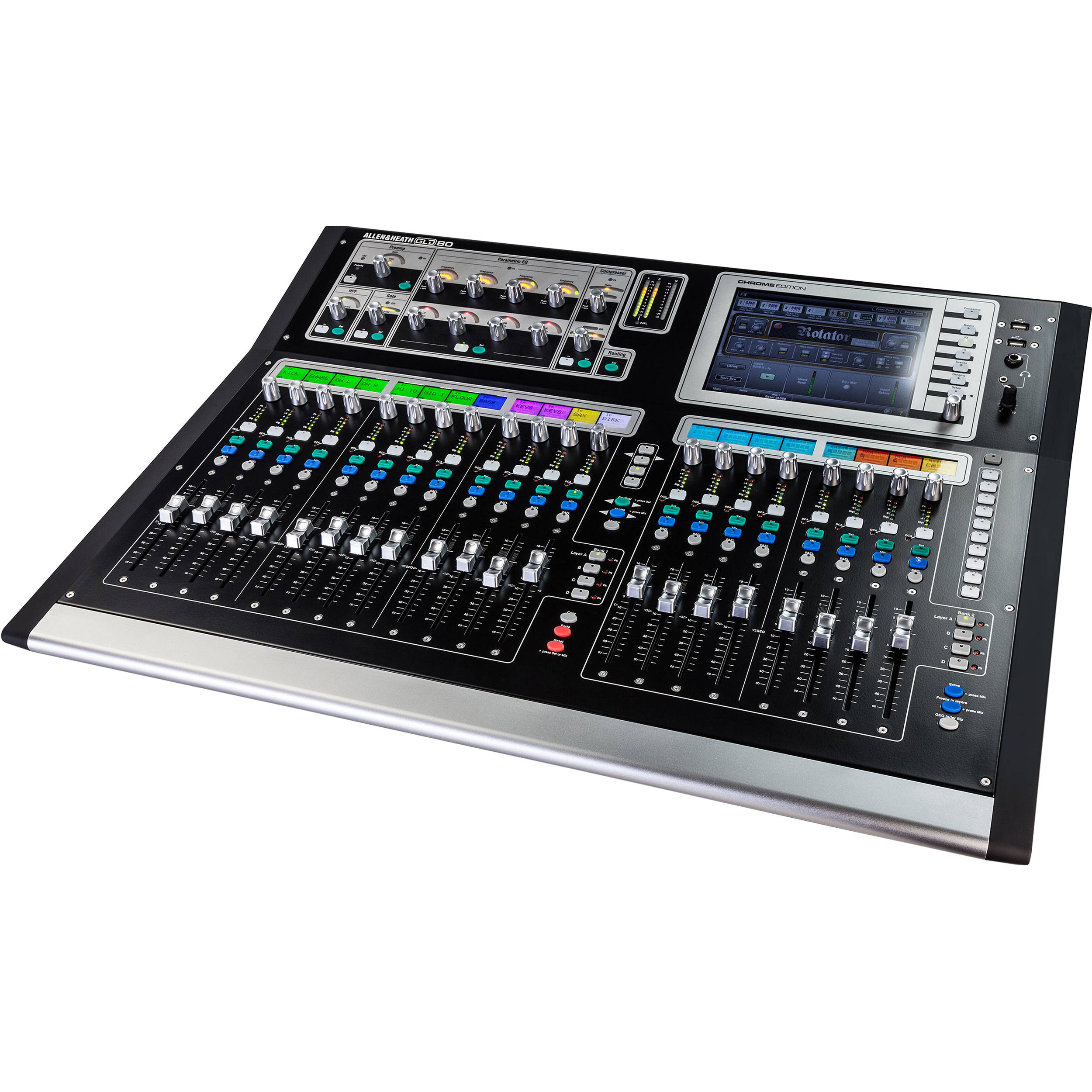 Allen & Heath GLD-80 Chrome Edition Compact Digital AH-GLD2-80