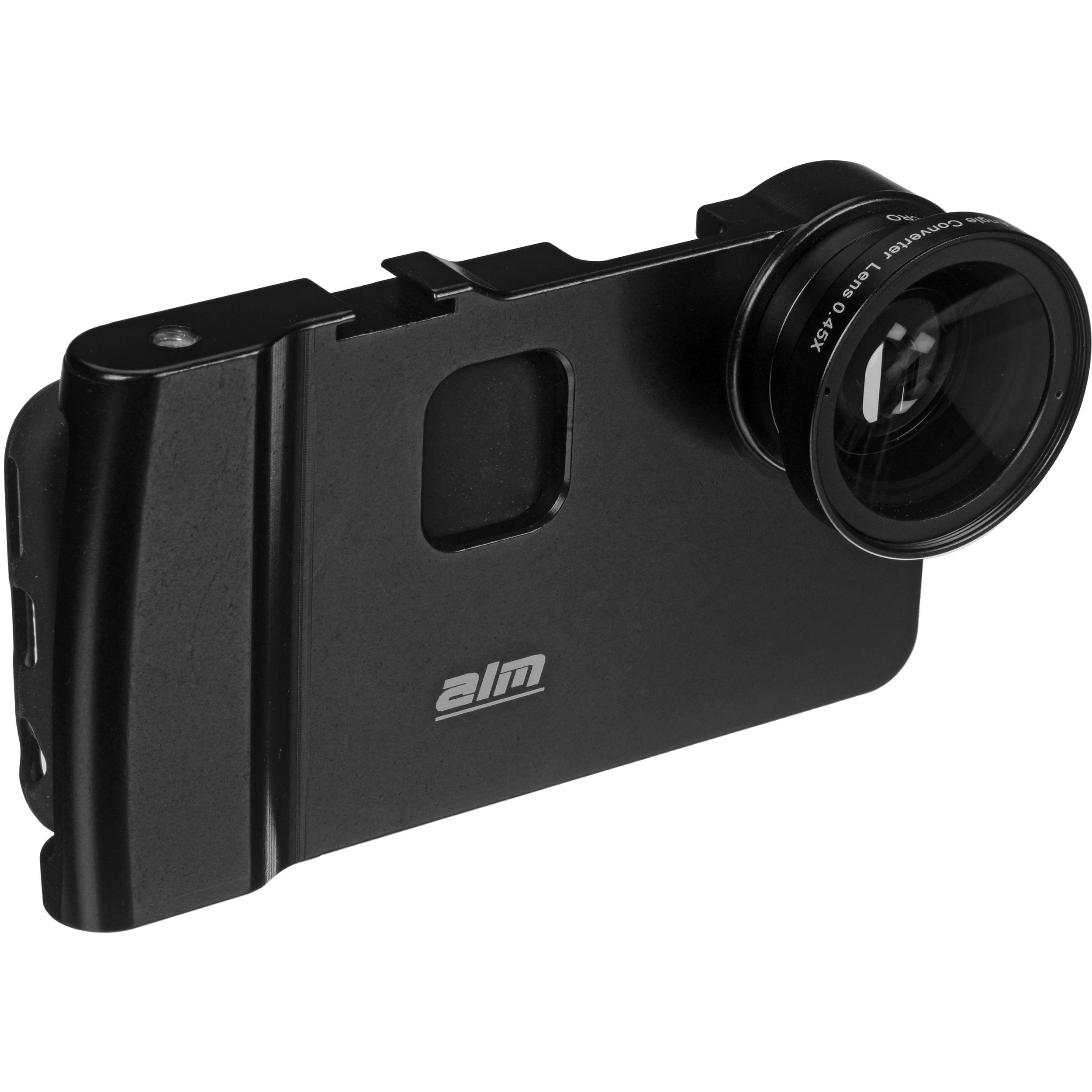iphone wide angle lens alm mcamlite mount with wide angle amp macro lens 12060 b amp h 15536