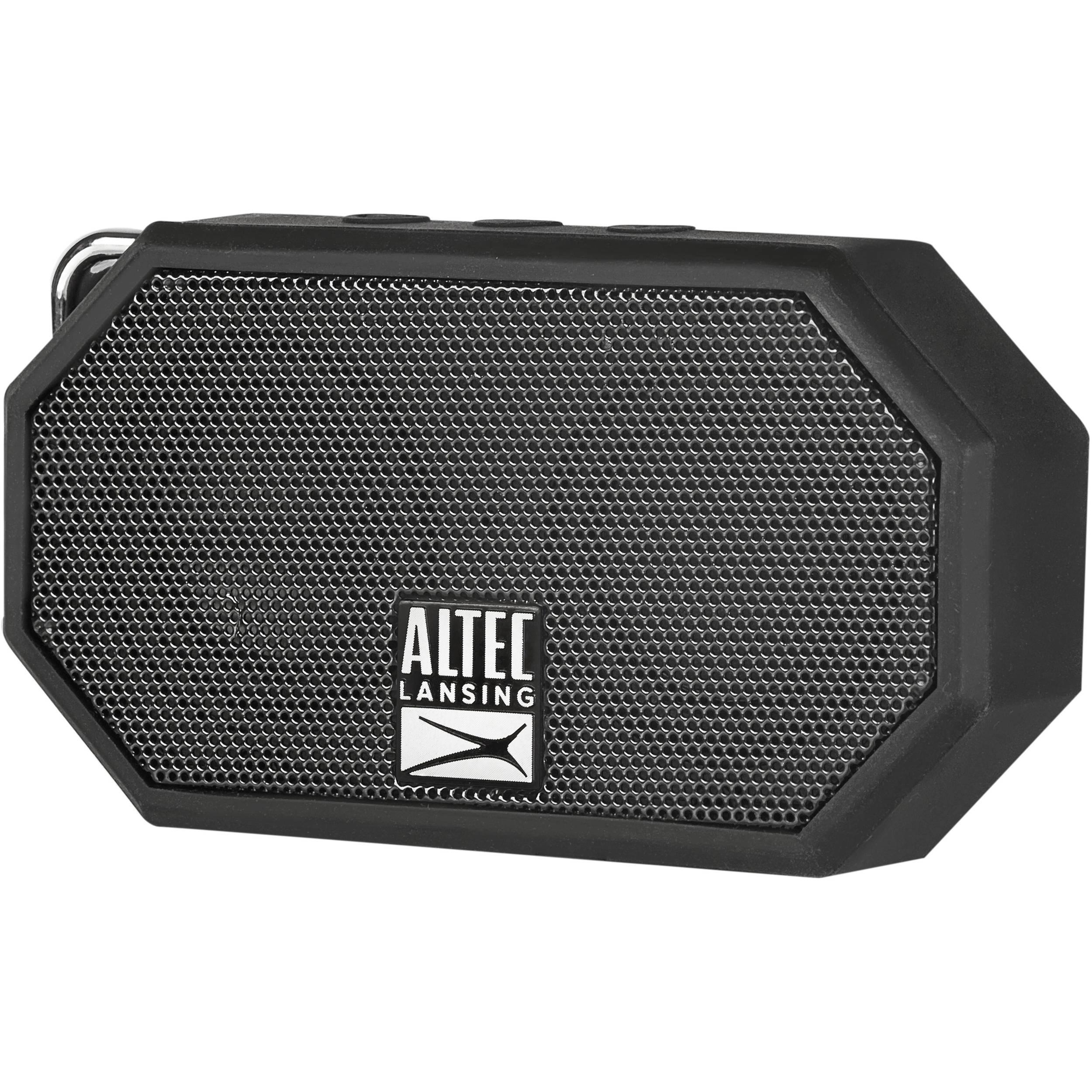 altec lansing mini h2o 2 bluetooth wireless speaker imw258 blk