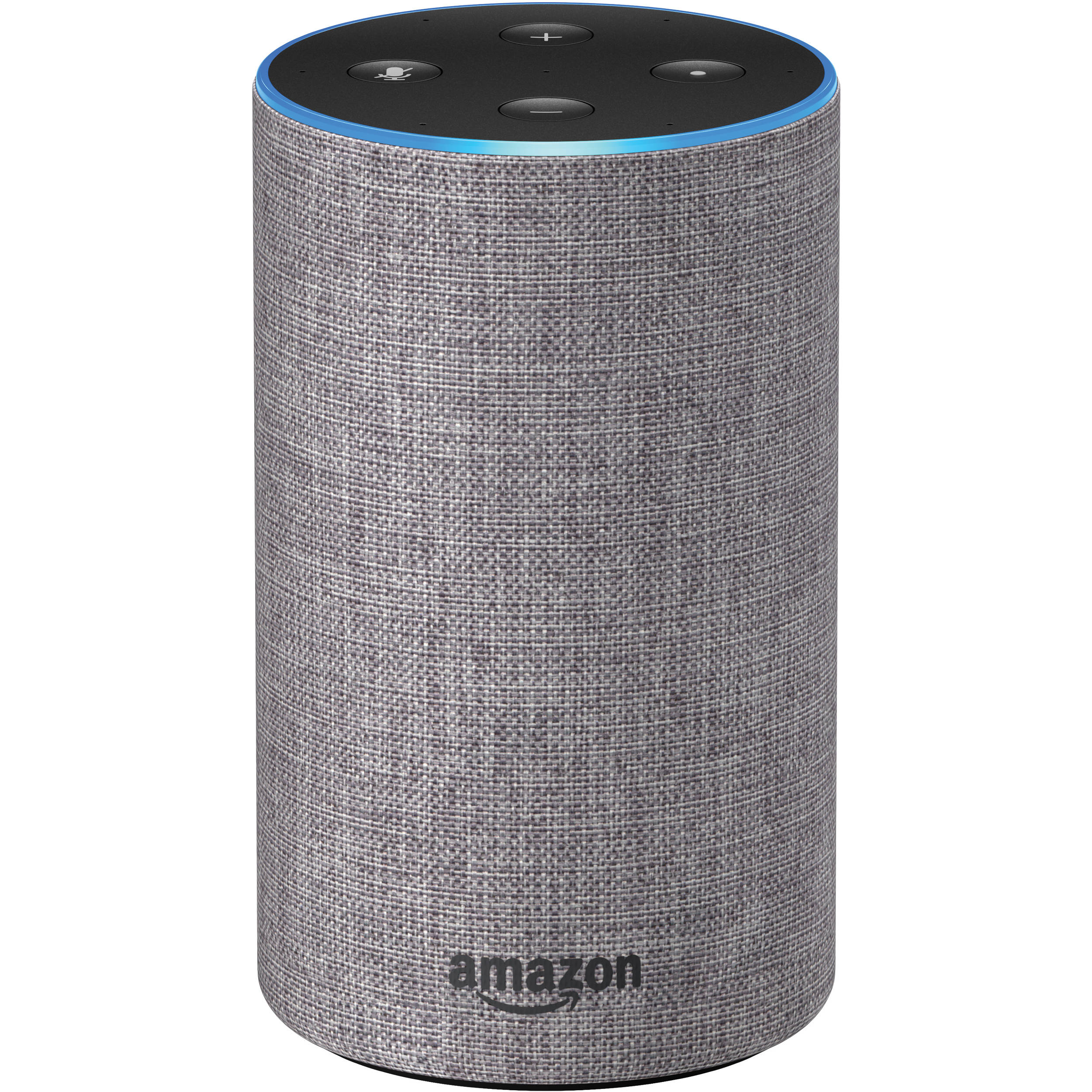 amazon echo 2nd generation heather gray fabric. Black Bedroom Furniture Sets. Home Design Ideas