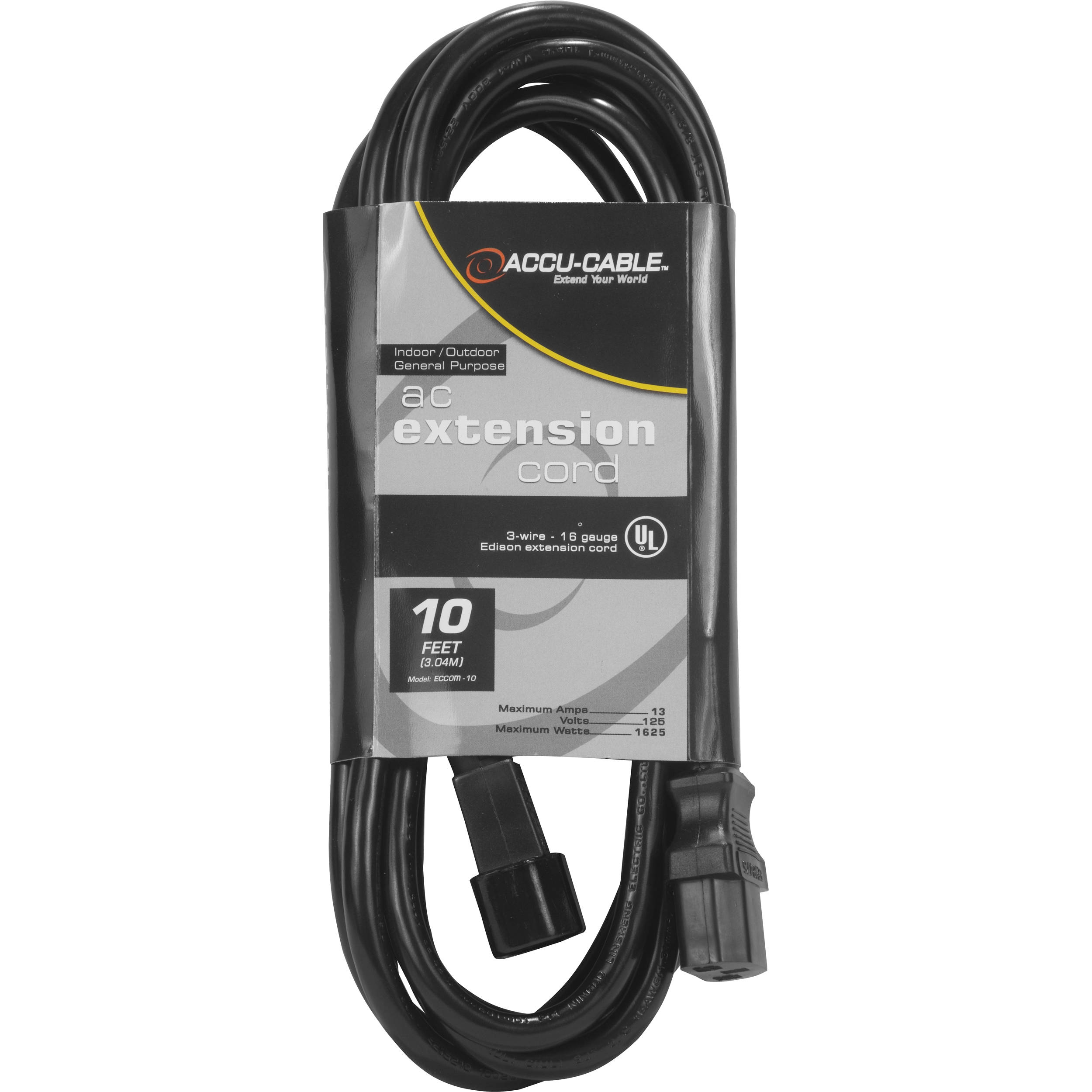 American DJ Accu-Cable Indoor-Outdoor General Purpose ECCOM-10