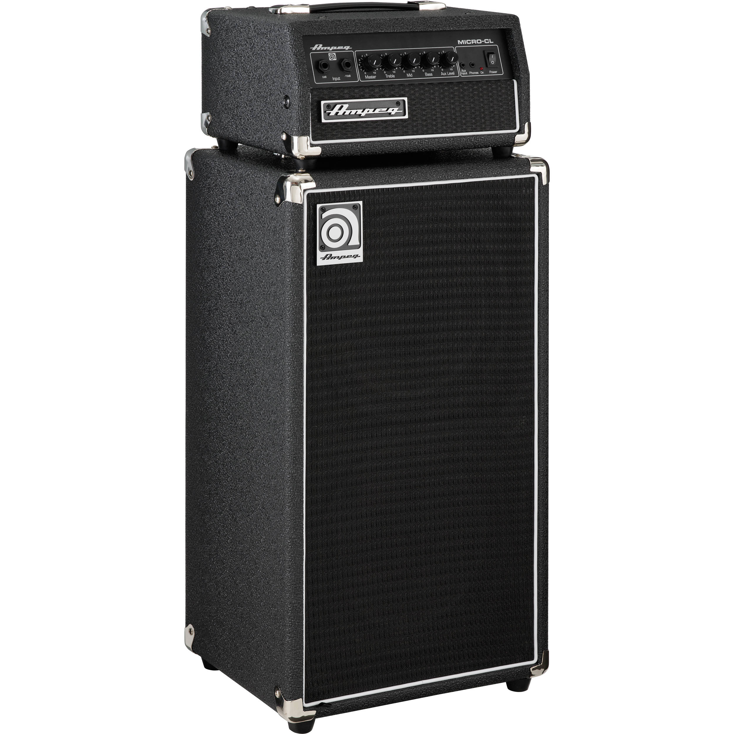 ampeg micro cl svt style 2x10 cabinet micro cl stack b h. Black Bedroom Furniture Sets. Home Design Ideas