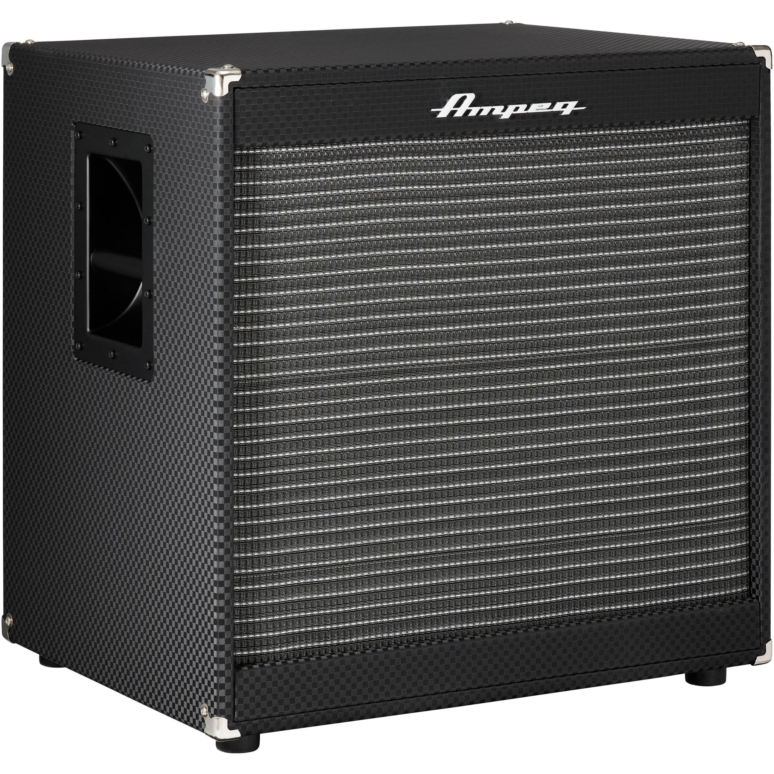 1x15 Guitar Cabinet Ampeg Portaflex Pf 115lf 1x15 400w Bass Speaker Pf 115lf