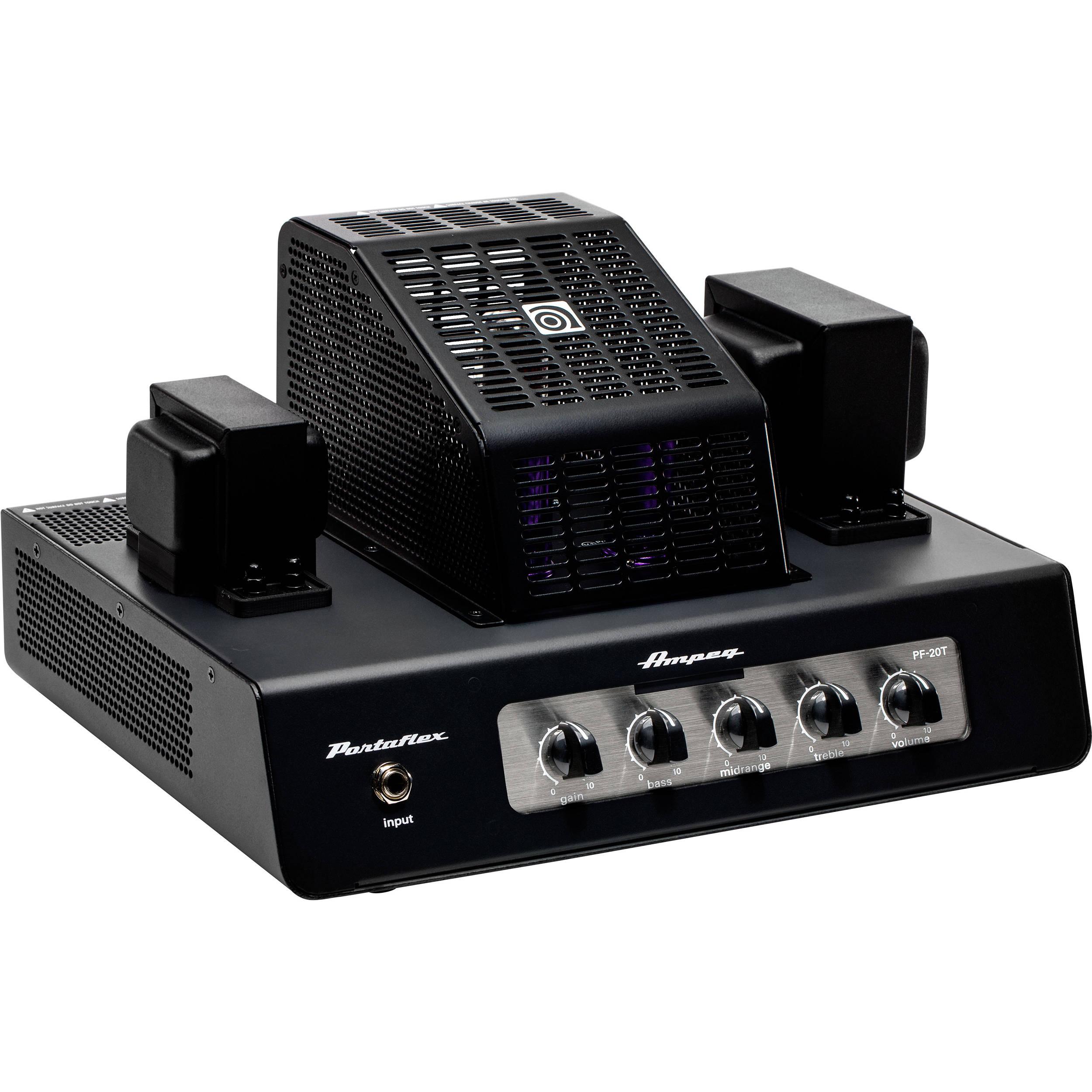 ampeg pf 20t portaflex series all tube 20 watt bass pf 20t b h. Black Bedroom Furniture Sets. Home Design Ideas