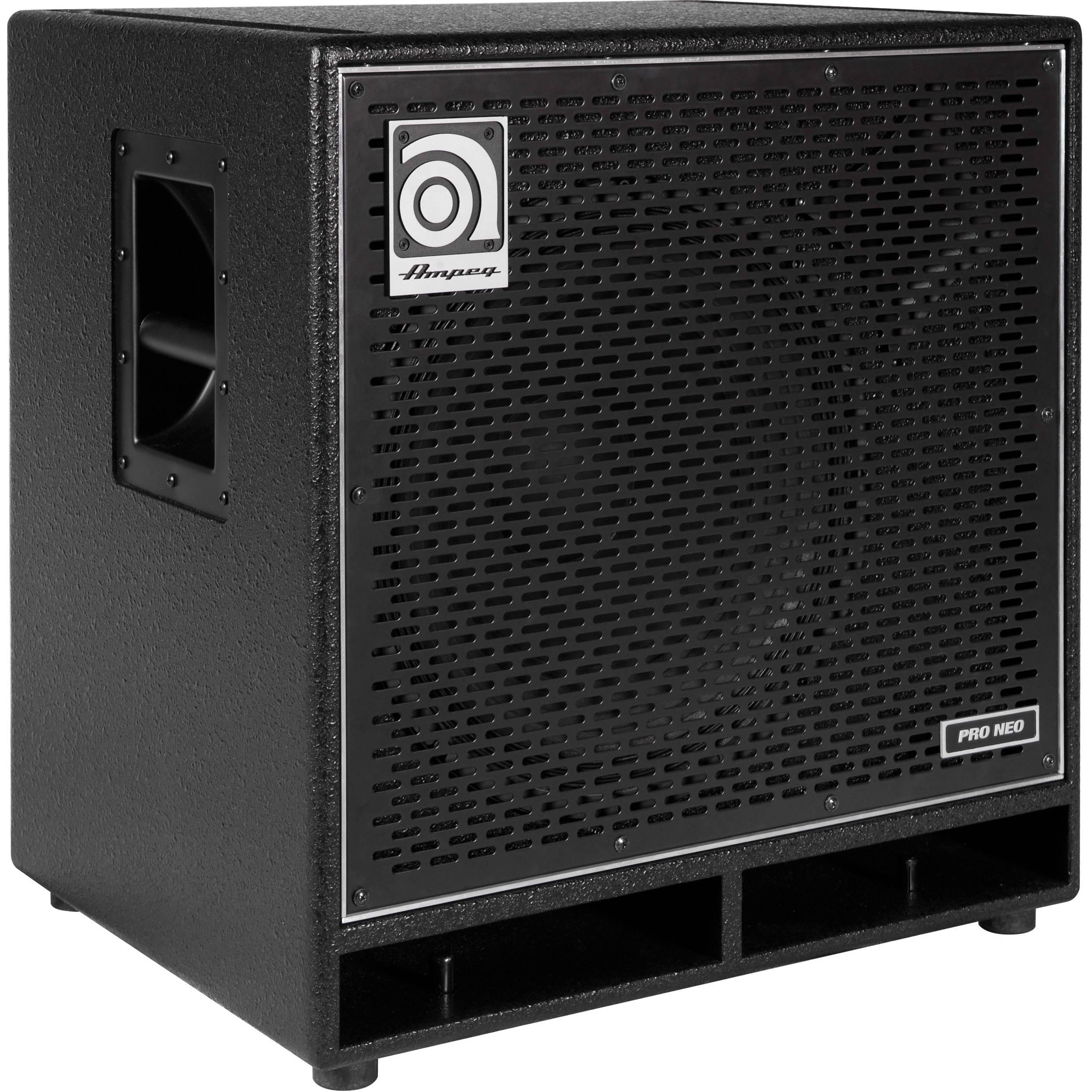 ampeg pro neo pn 115hlf 1x15 575w bass guitar cabinet pn 115hlf. Black Bedroom Furniture Sets. Home Design Ideas