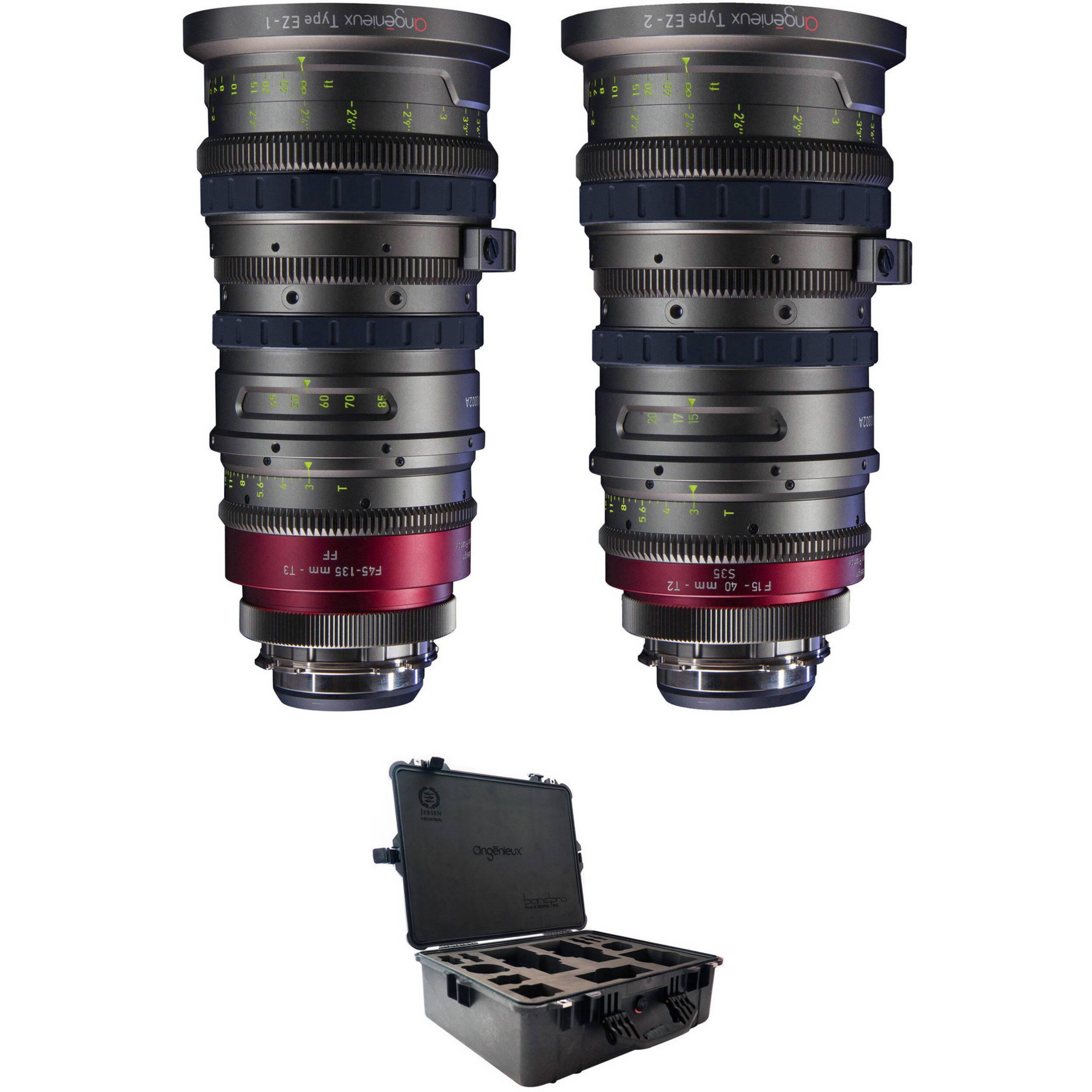 Angenieux Full Frame & Super 35 EZ-1 & EZ-2 EZ-ADVC KIT