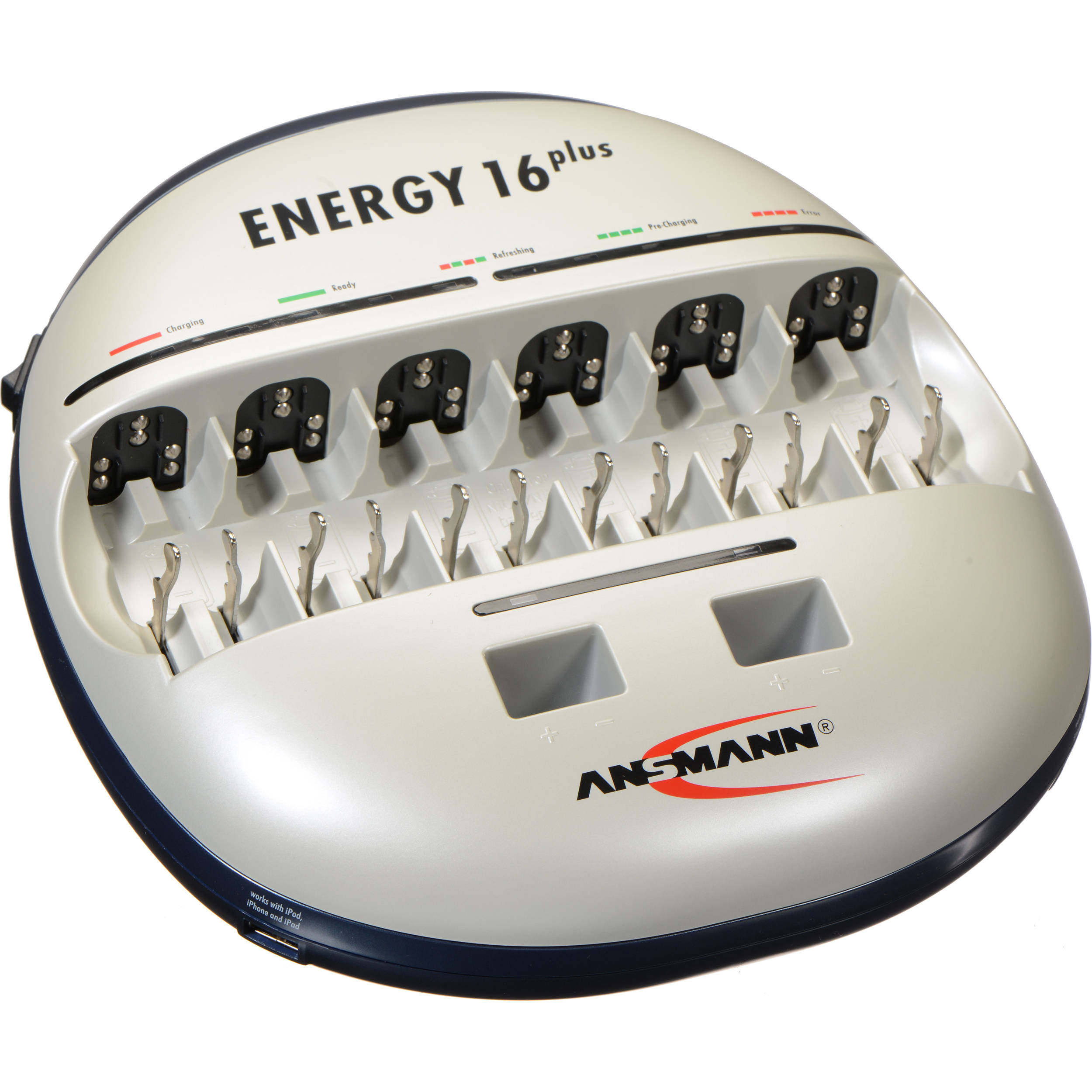 Ansmann Energy 16 Plus Charger For Nimh Or Nicd 1001 0004 Us Bh Nicad By Ic Ca3140e Batteries