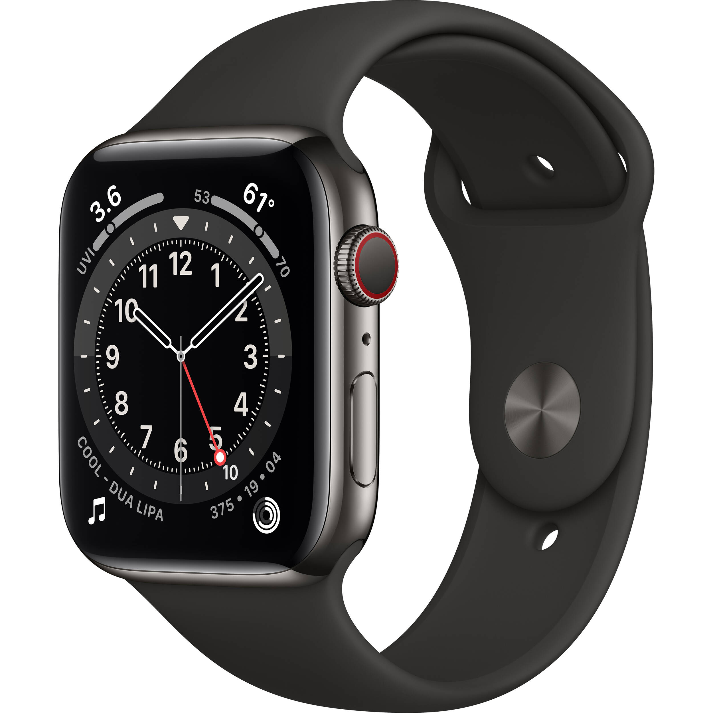 Apple Watch Series 6 M07Q3LL/A B&H Photo Video