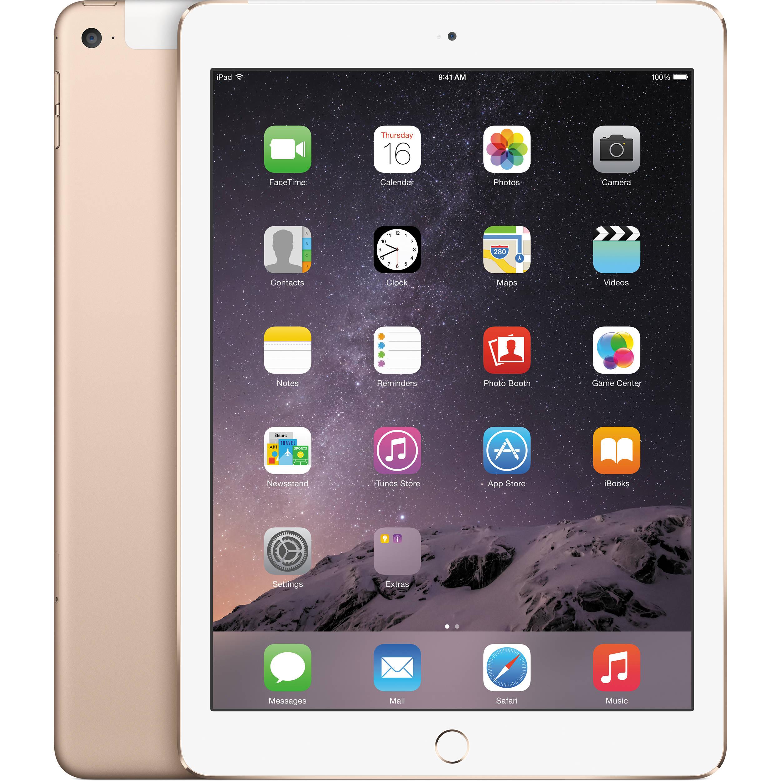 Apple 64GB IPad Air 2 Wi Fi 4G LTE Gold