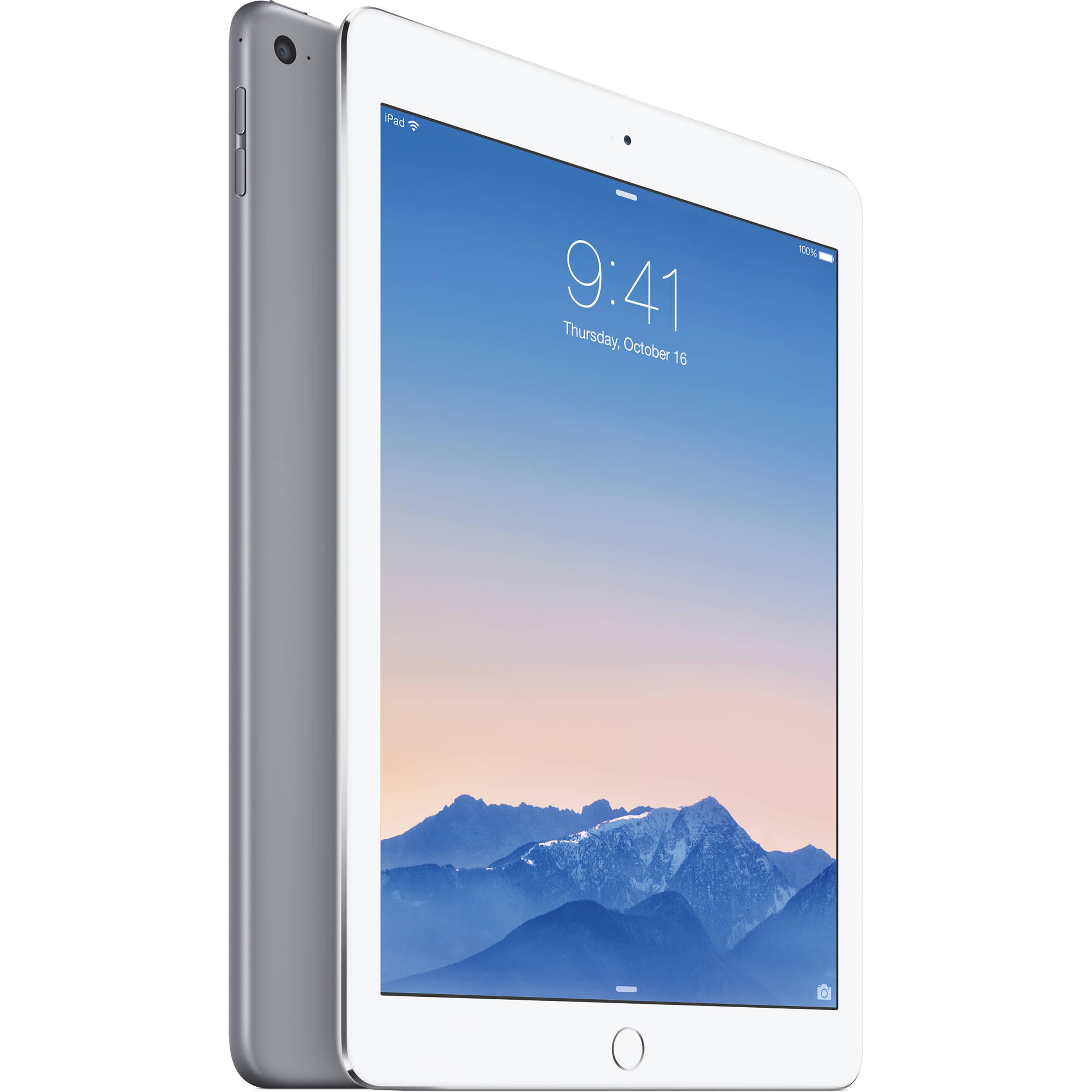 apple 128gb ipad air 2 verizon space gray mh312ll a verizon. Black Bedroom Furniture Sets. Home Design Ideas