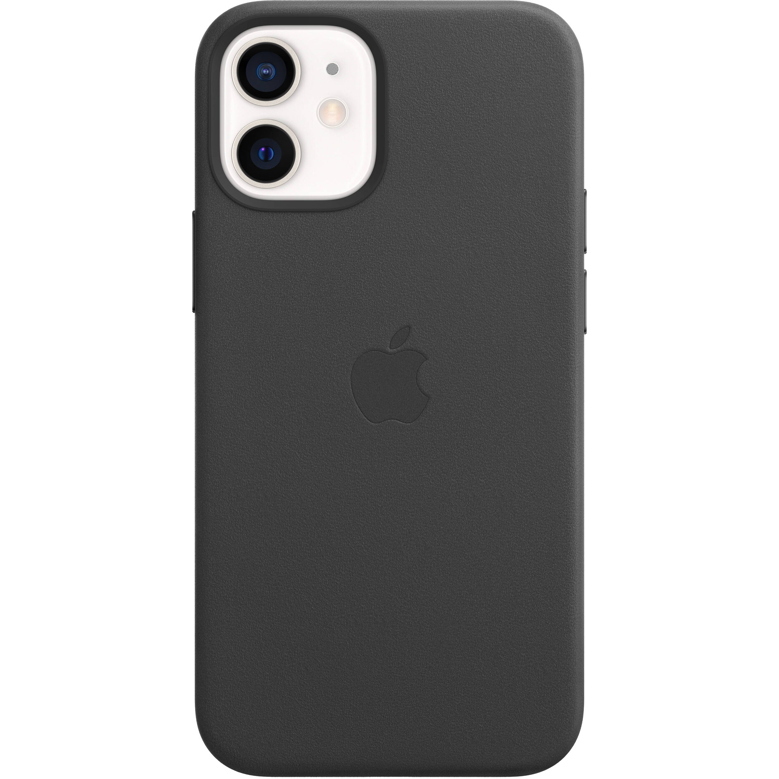 Apple iPhone 12 mini Leather Case with MagSafe (Black) MHKA3ZM\/A
