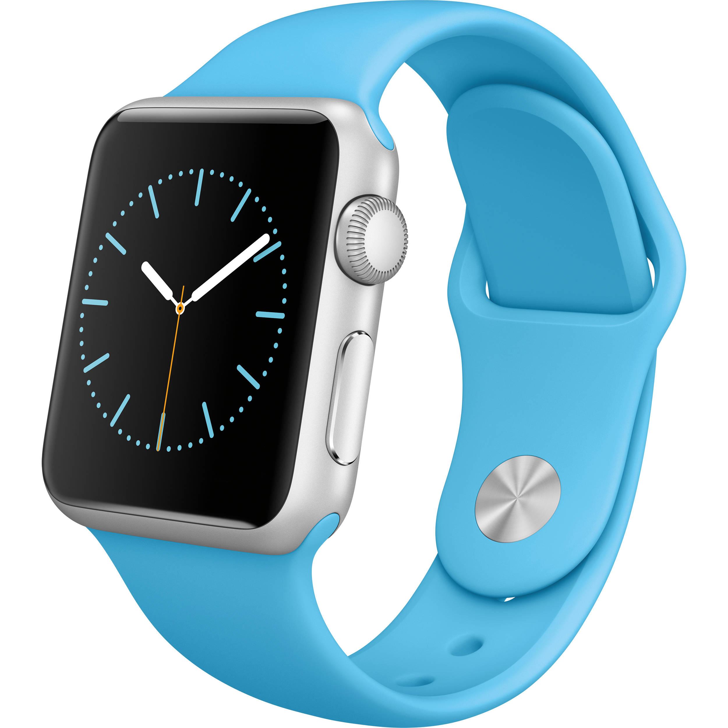 Apple Watch Sport 38mm Smartwatch MLCG2LL/A B&H Photo Video