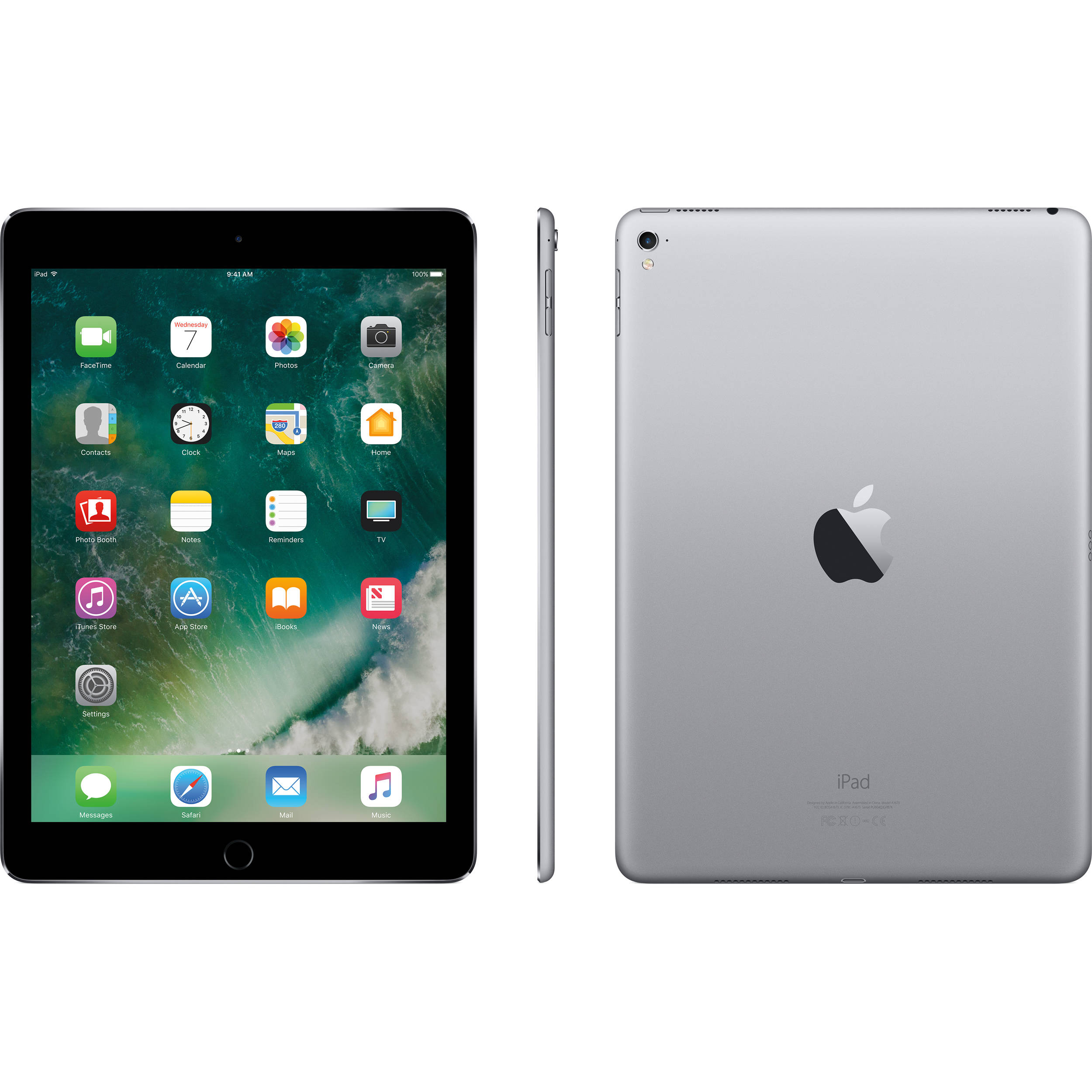apple 9 7 ipad pro 32gb wi fi only space gray. Black Bedroom Furniture Sets. Home Design Ideas