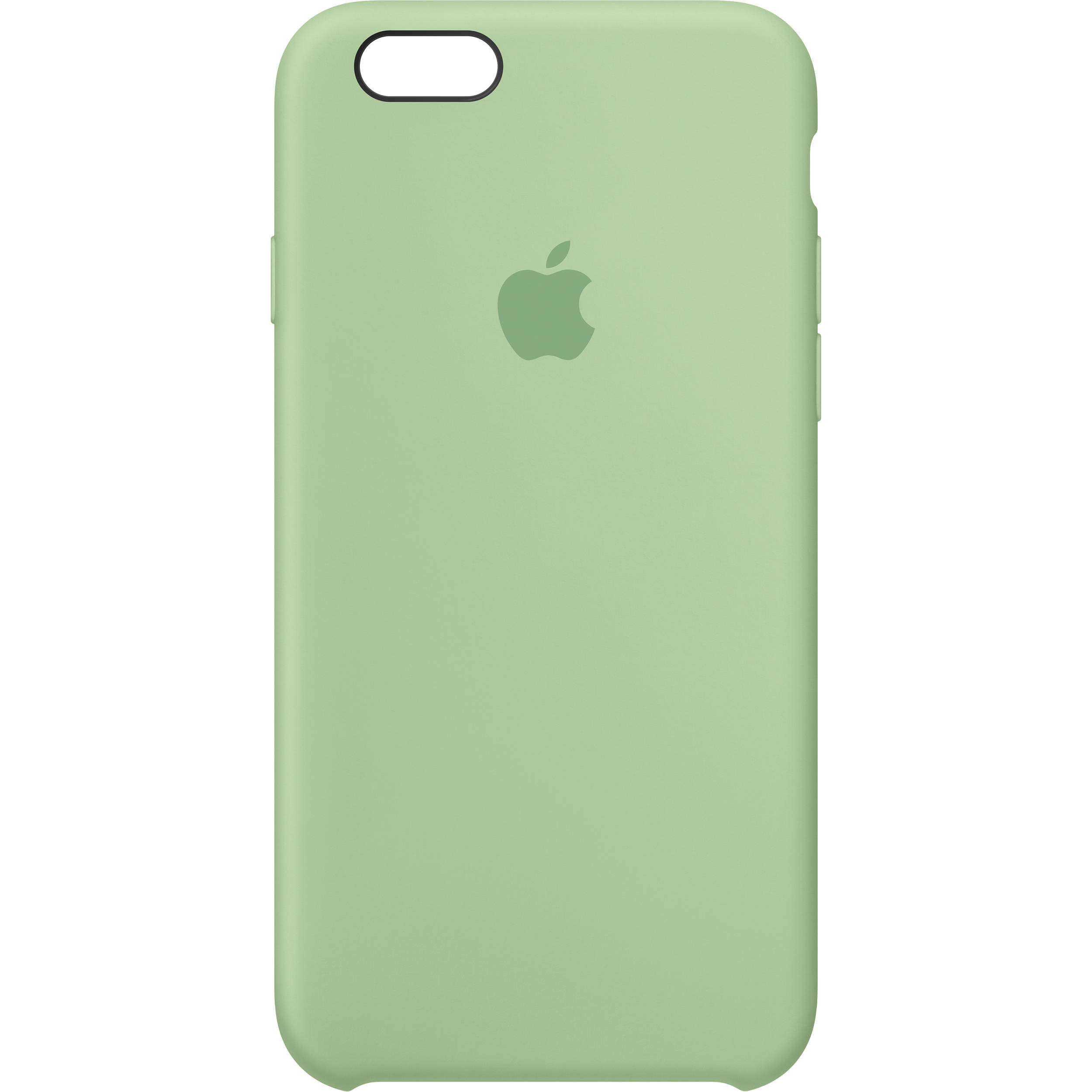 apple iphone 6 6s silicone case mint mm672zm a b h photo. Black Bedroom Furniture Sets. Home Design Ideas