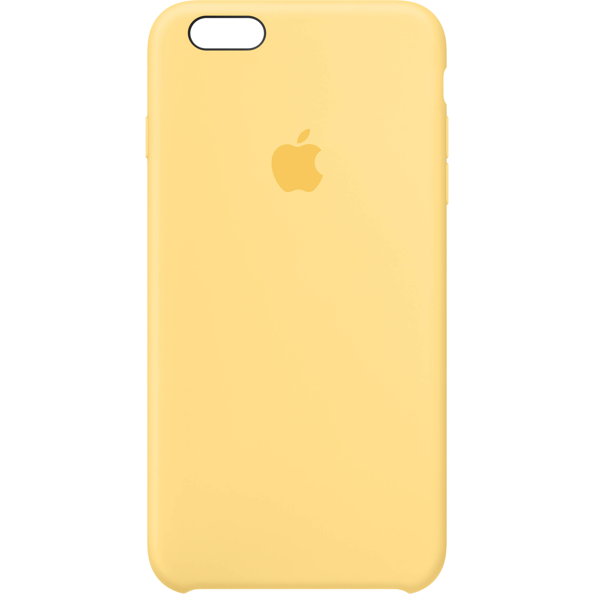 80acc4fc9e9a Apple iPhone 6 Plus/6s Plus Silicone Case (Yellow) MM6H2ZM/A B&H
