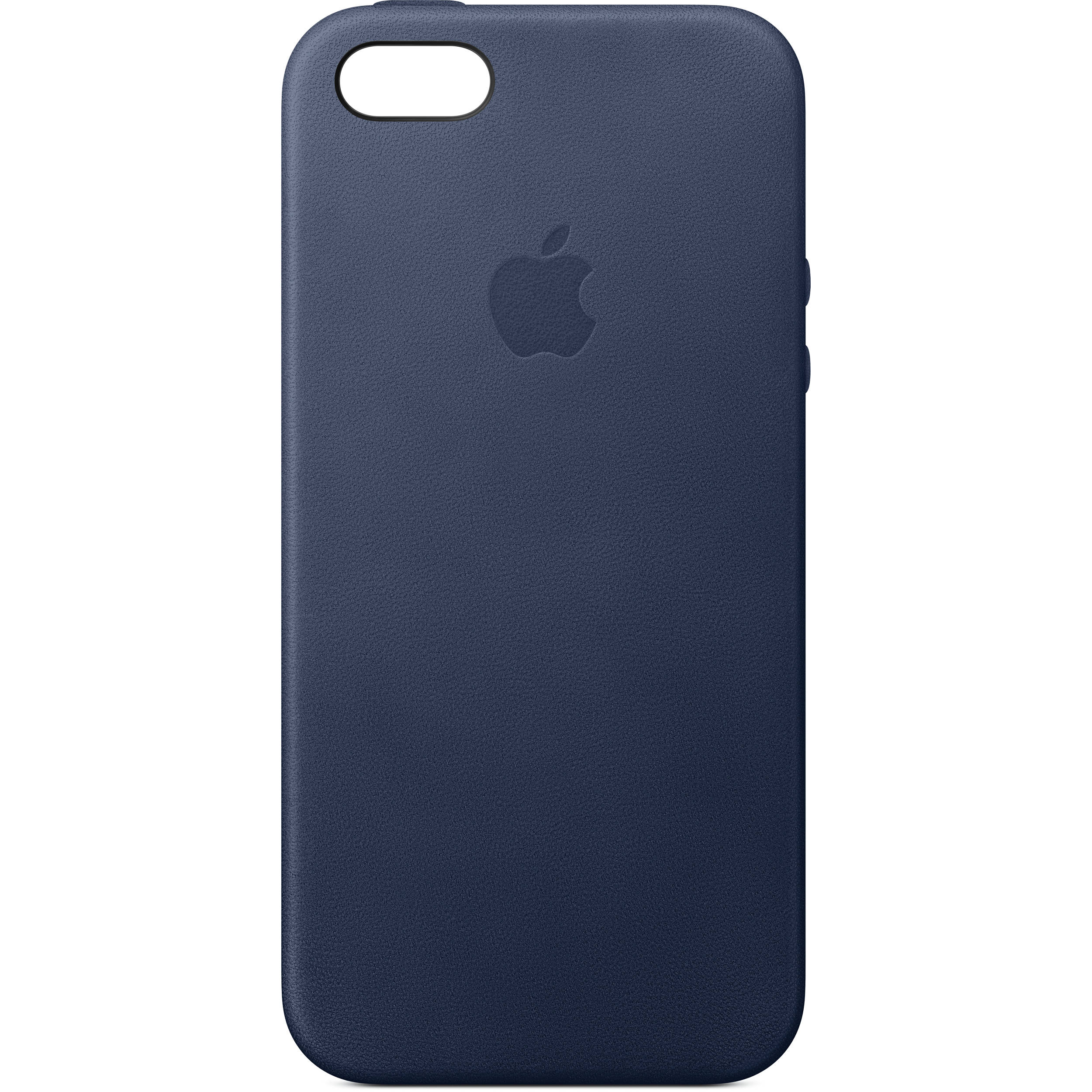 apple iphone 5 5s se leather case midnight blue mmhg2zm. Black Bedroom Furniture Sets. Home Design Ideas