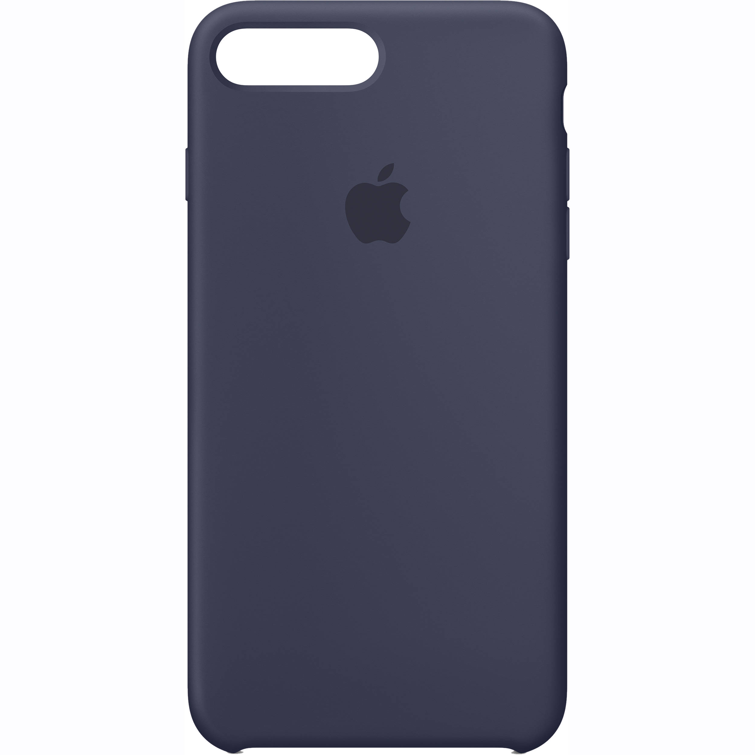 apple iphone 7 plus silicone case midnight blue mmqu2zm. Black Bedroom Furniture Sets. Home Design Ideas