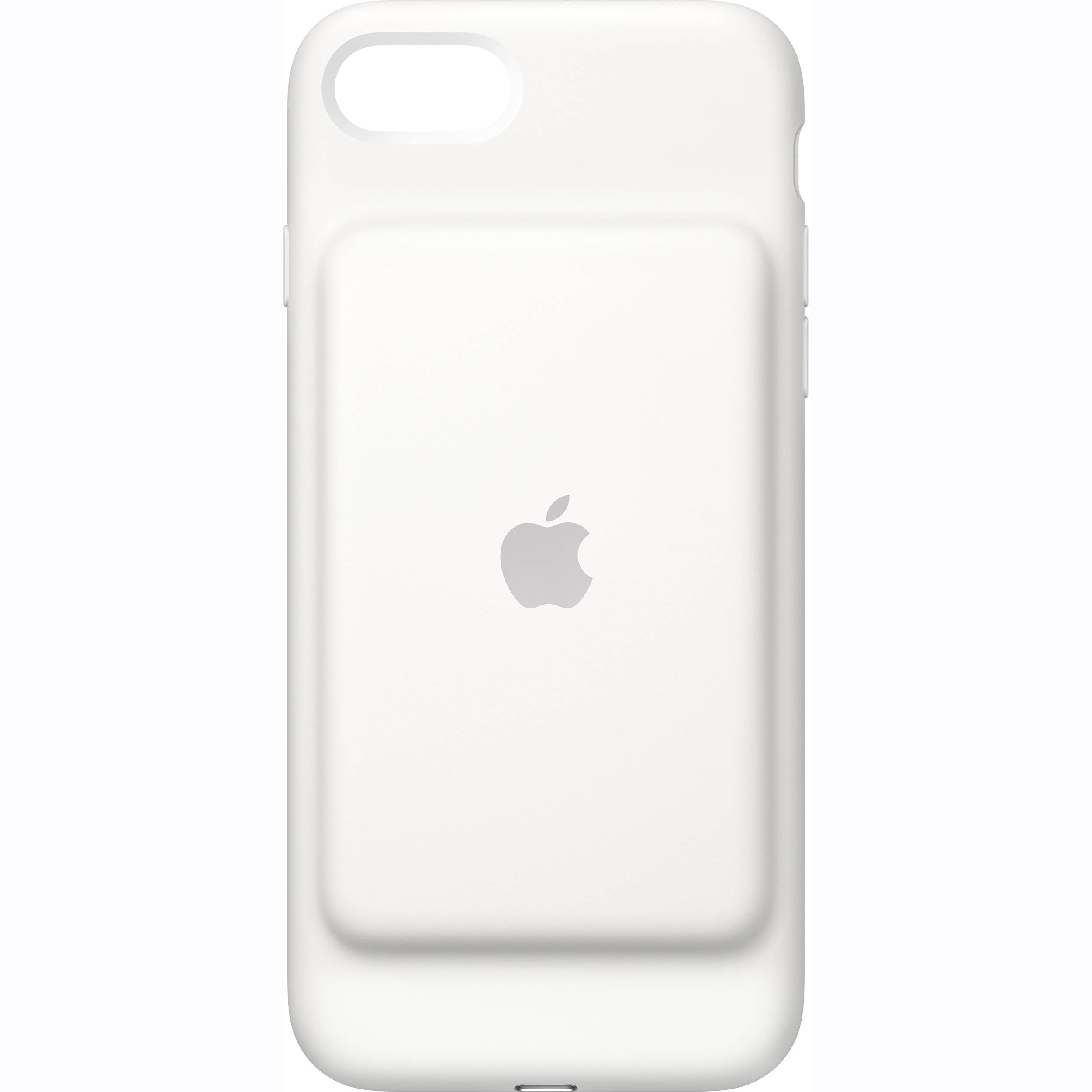 Apple iphone 7 smart battery case white mn012ll a b h photo - Iphone 7 smart battery case ...