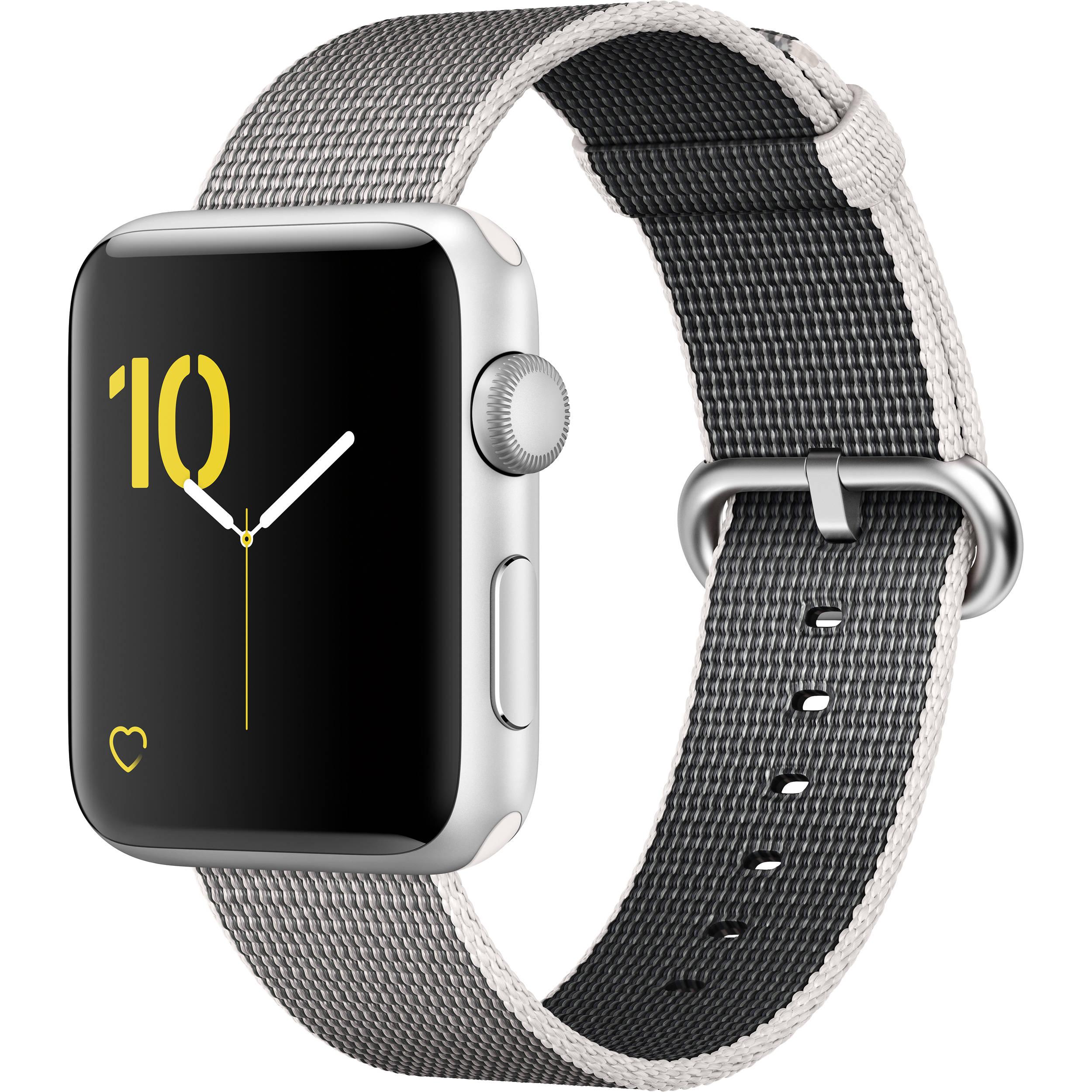 apple watch series 2 42mm smartwatch mnpk2ll a b h photo video