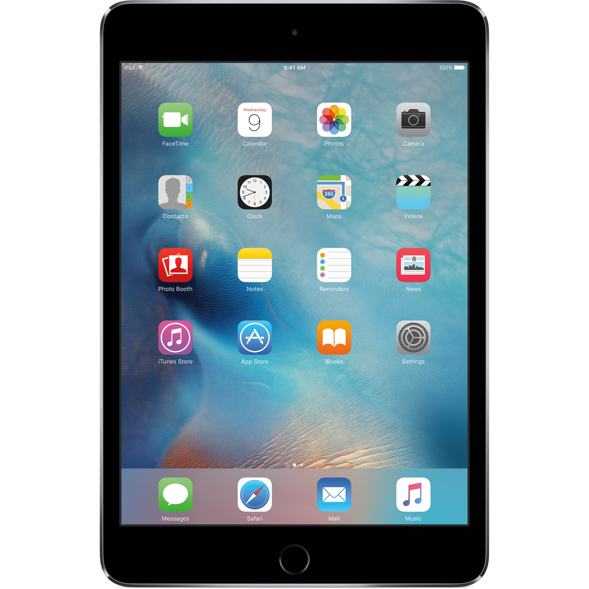 apple 32gb ipad mini 4 wi fi only space gray mny12ll a b h. Black Bedroom Furniture Sets. Home Design Ideas