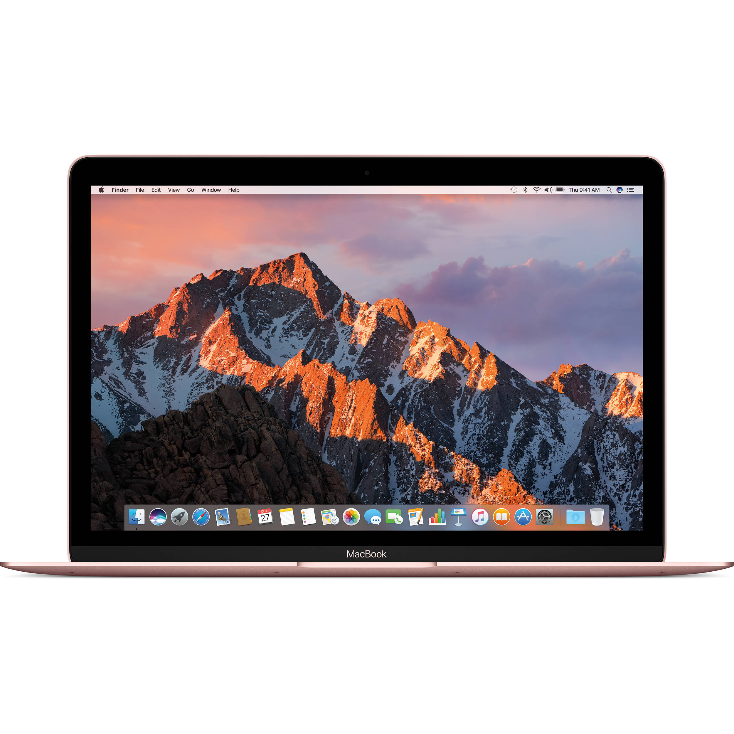 apple 12 macbook mid 2017 rose gold mnym2ll a b h photo. Black Bedroom Furniture Sets. Home Design Ideas