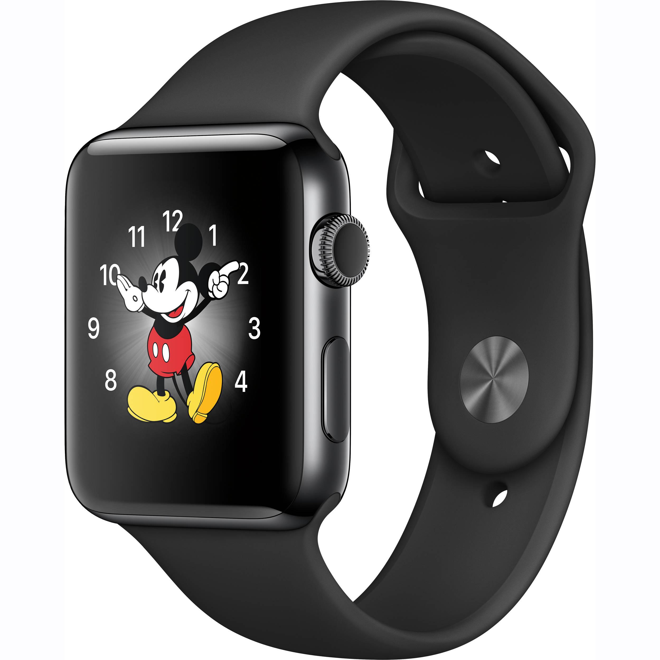 apple watch series 2 42mm smartwatch mp4a2ll a b h photo video