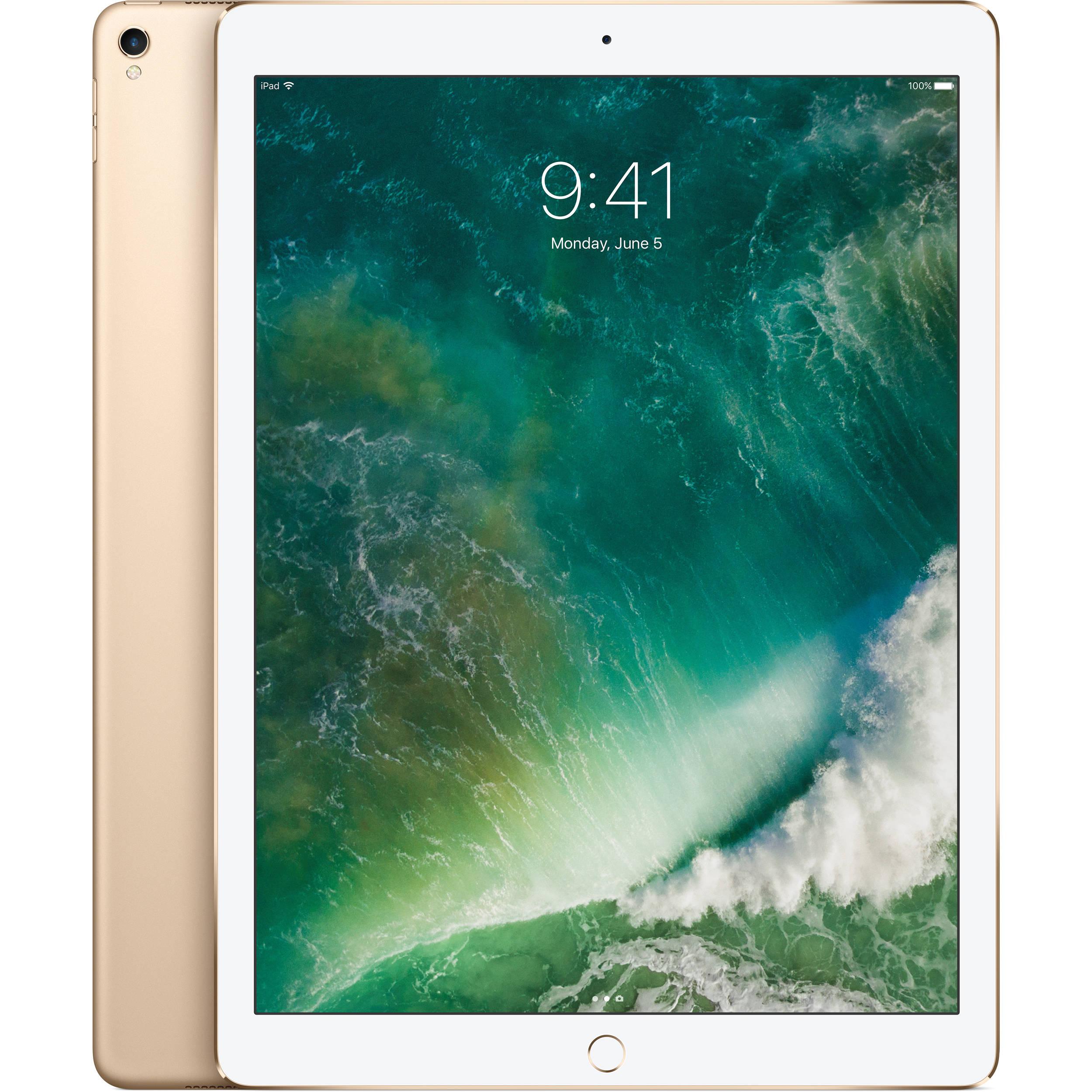 Apple 12 9 Ipad Pro Mp6j2ll A B H Photo Video