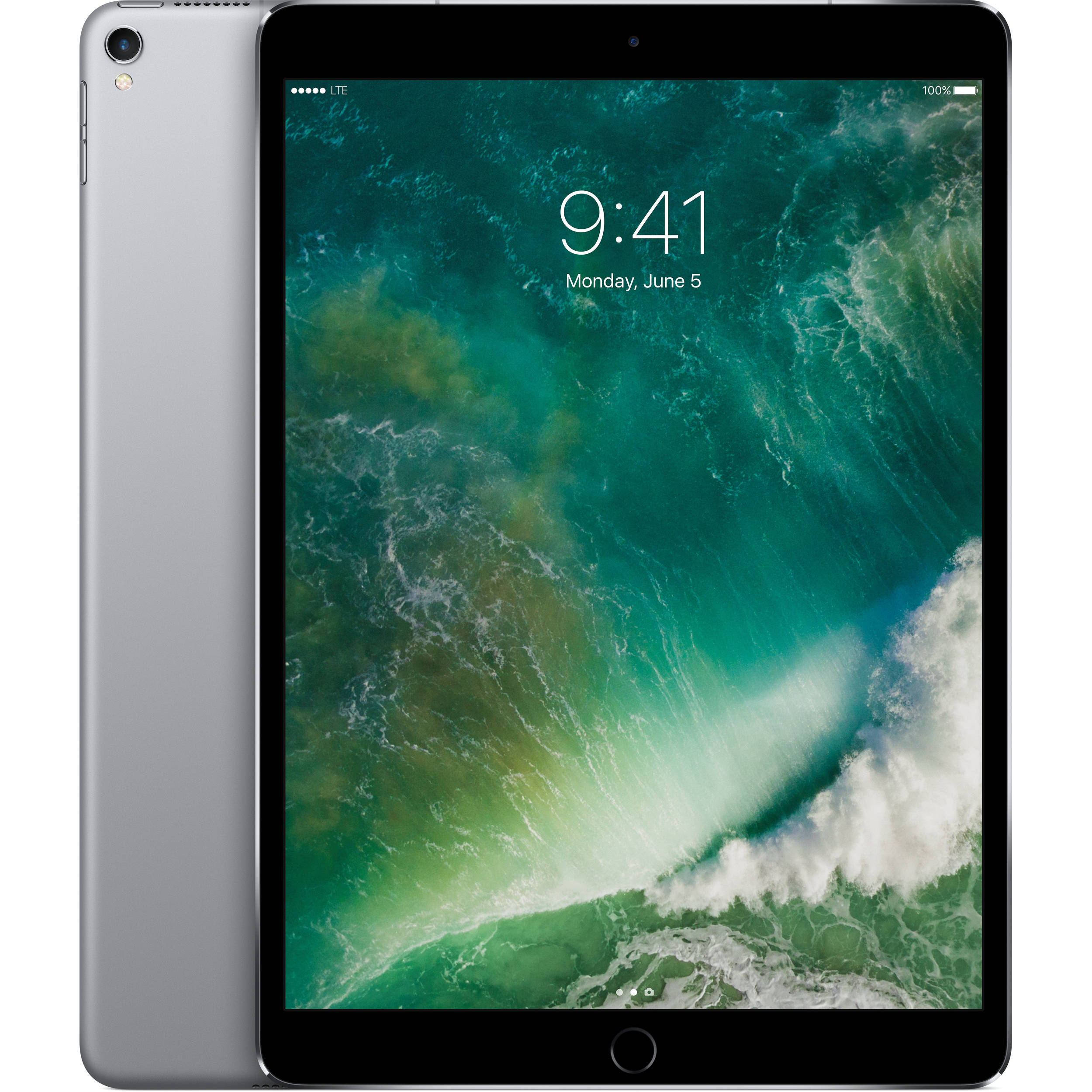 "Apple 10.5"" iPad Pro (256GB, Wi-Fi + 4G LTE, Space"