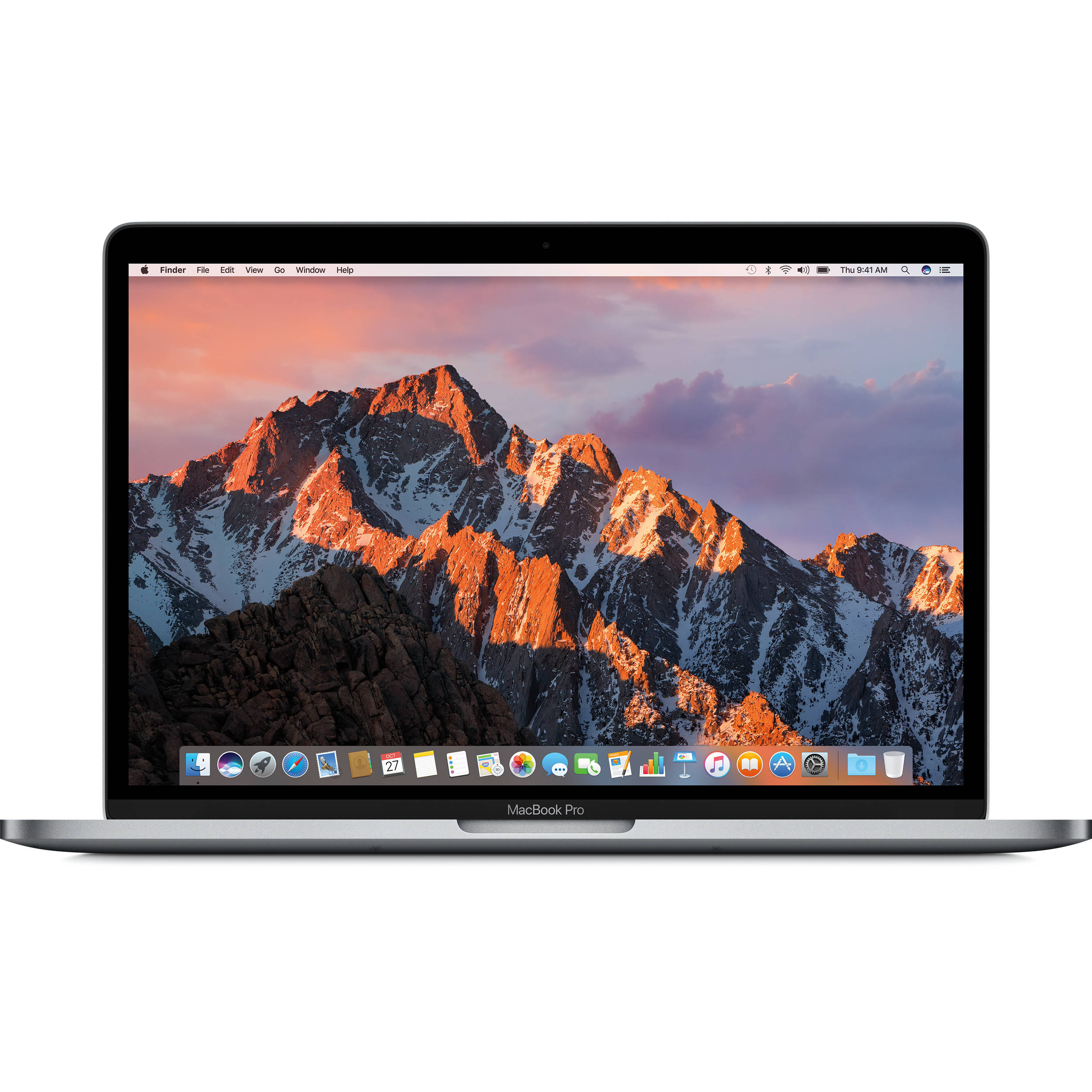 apple 13 3 macbook pro mid 2017 space gray mpxt2ll a