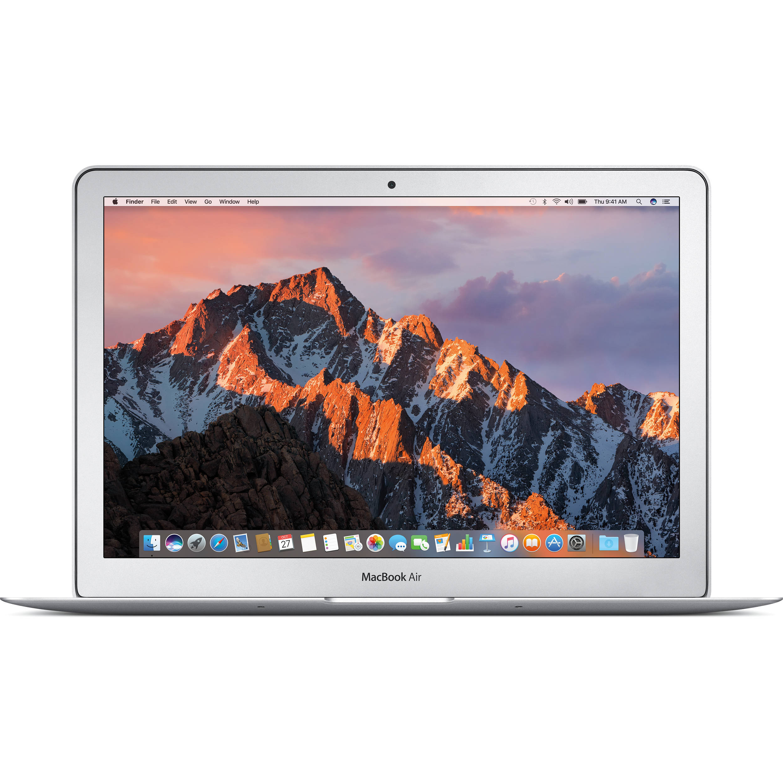 Apple 13 3 macbook air mid 2017 silver mqd32ll a b h for Apple product book