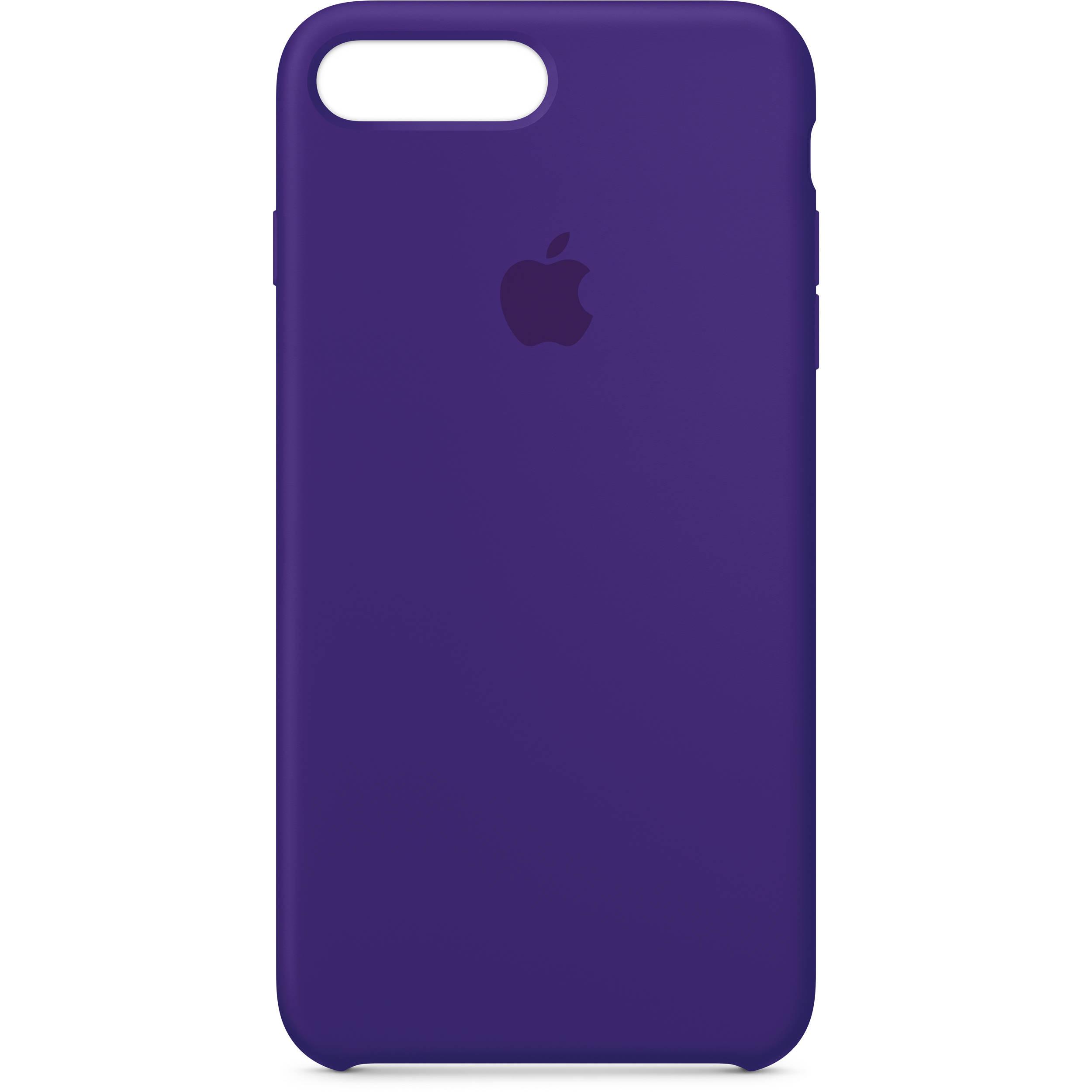 apple iphone 7 plus 8 plus silicone case ultra violet