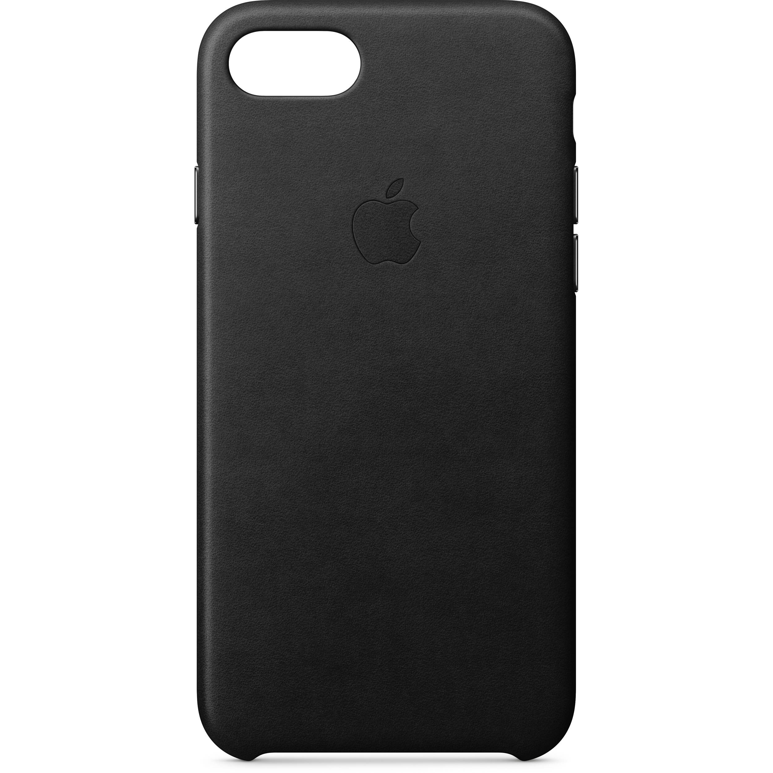 a1470d27e82 Apple iPhone 8 7 Leather Case (Black) MQH92ZM A B H Photo Video