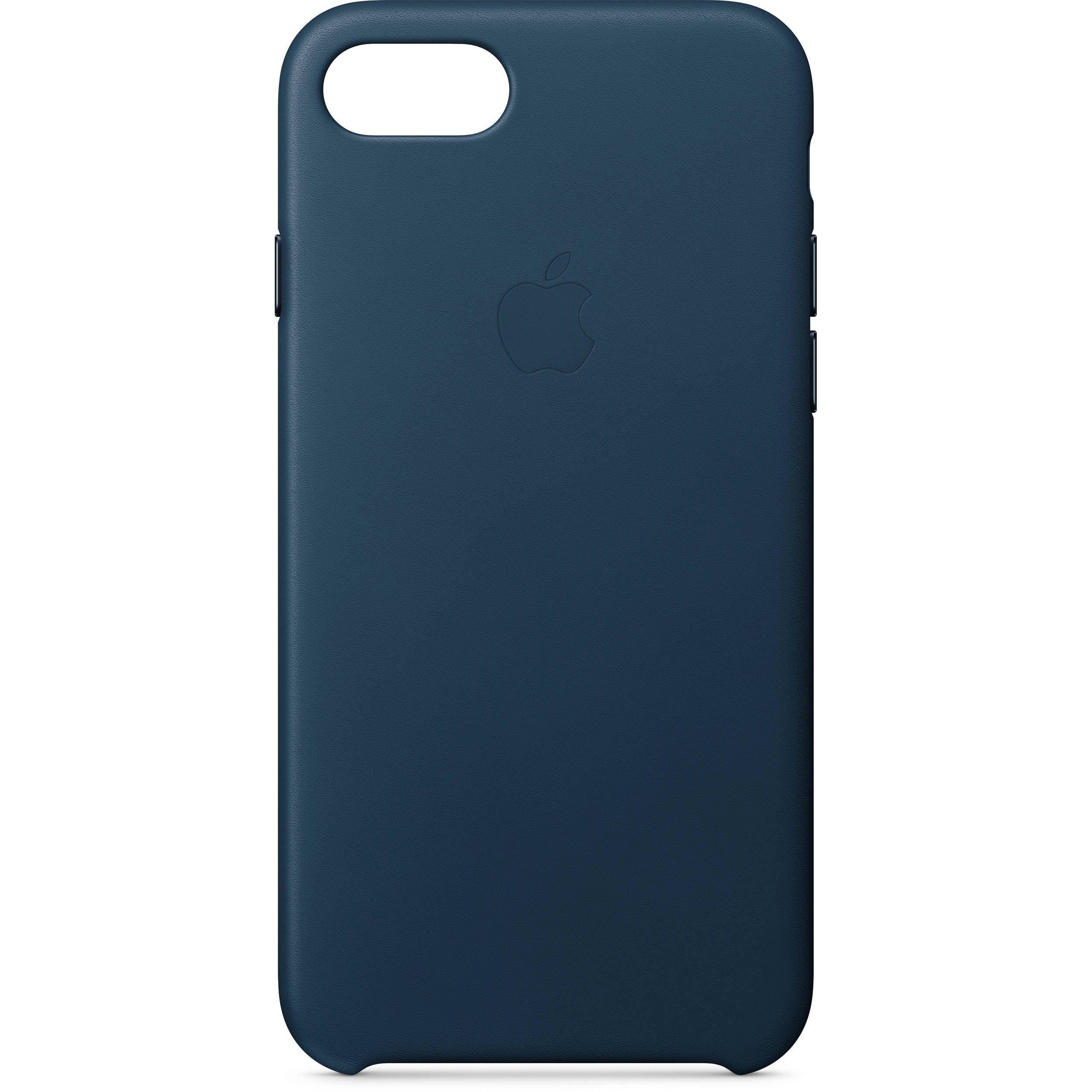 Apple iPhone 8/7 Leather Case (Cosmos Blue) MQHF2ZM/A B&H ...