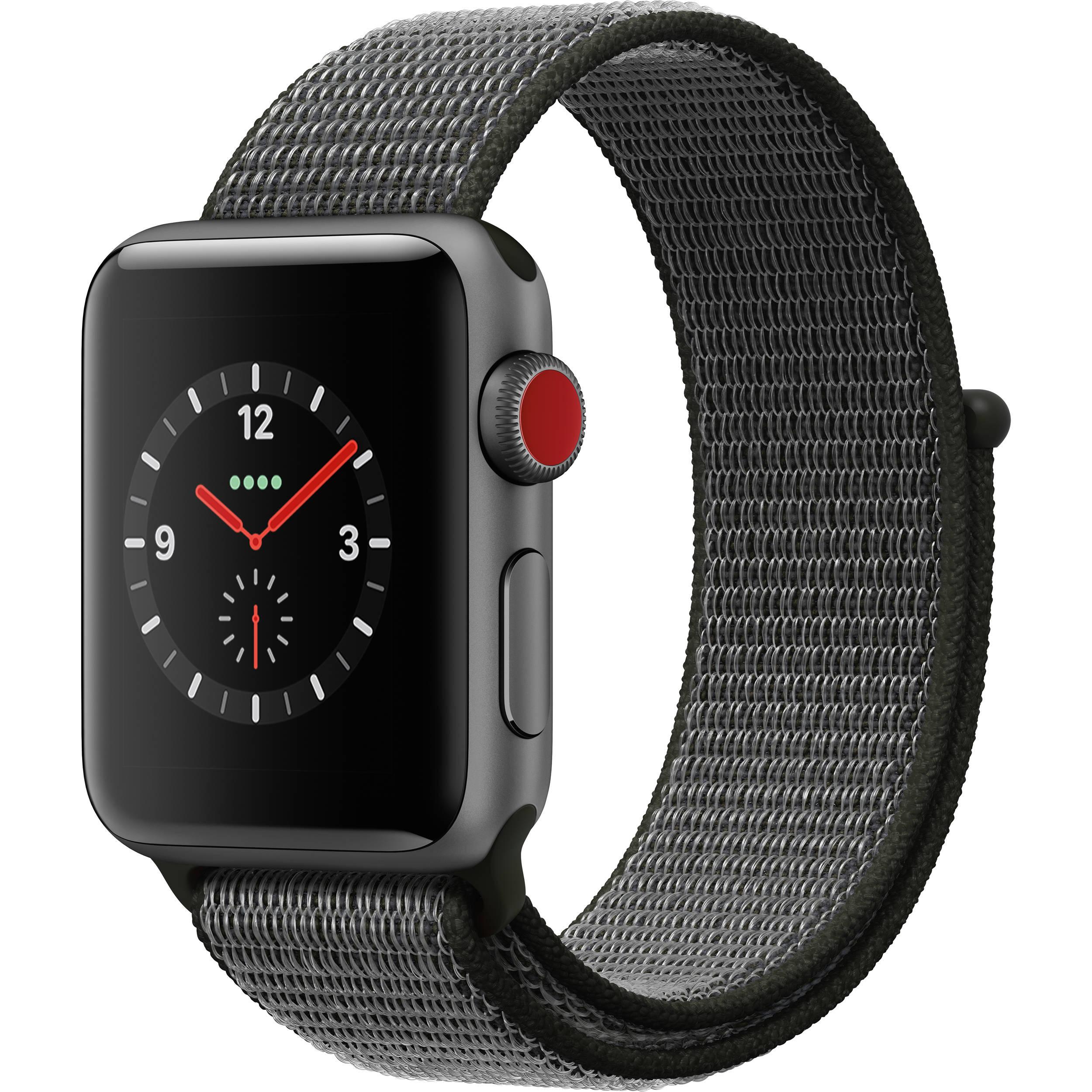 d508d75cf22 Apple Watch Series 3 38mm Smartwatch MQJT2LL A B H Photo Video