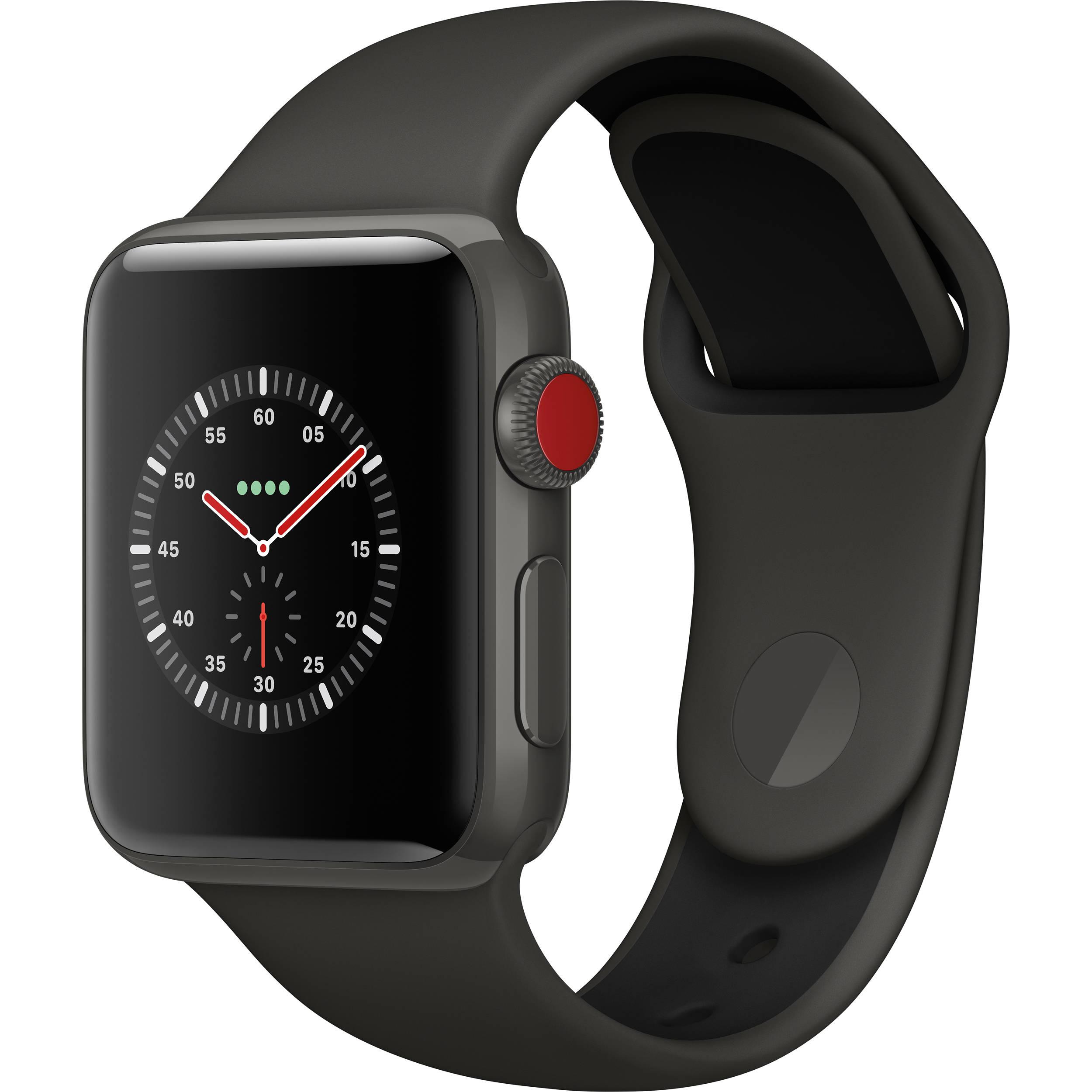 Apple Watch Edition Series 3 38mm Smartwatch MQK02LL/A B&H ...