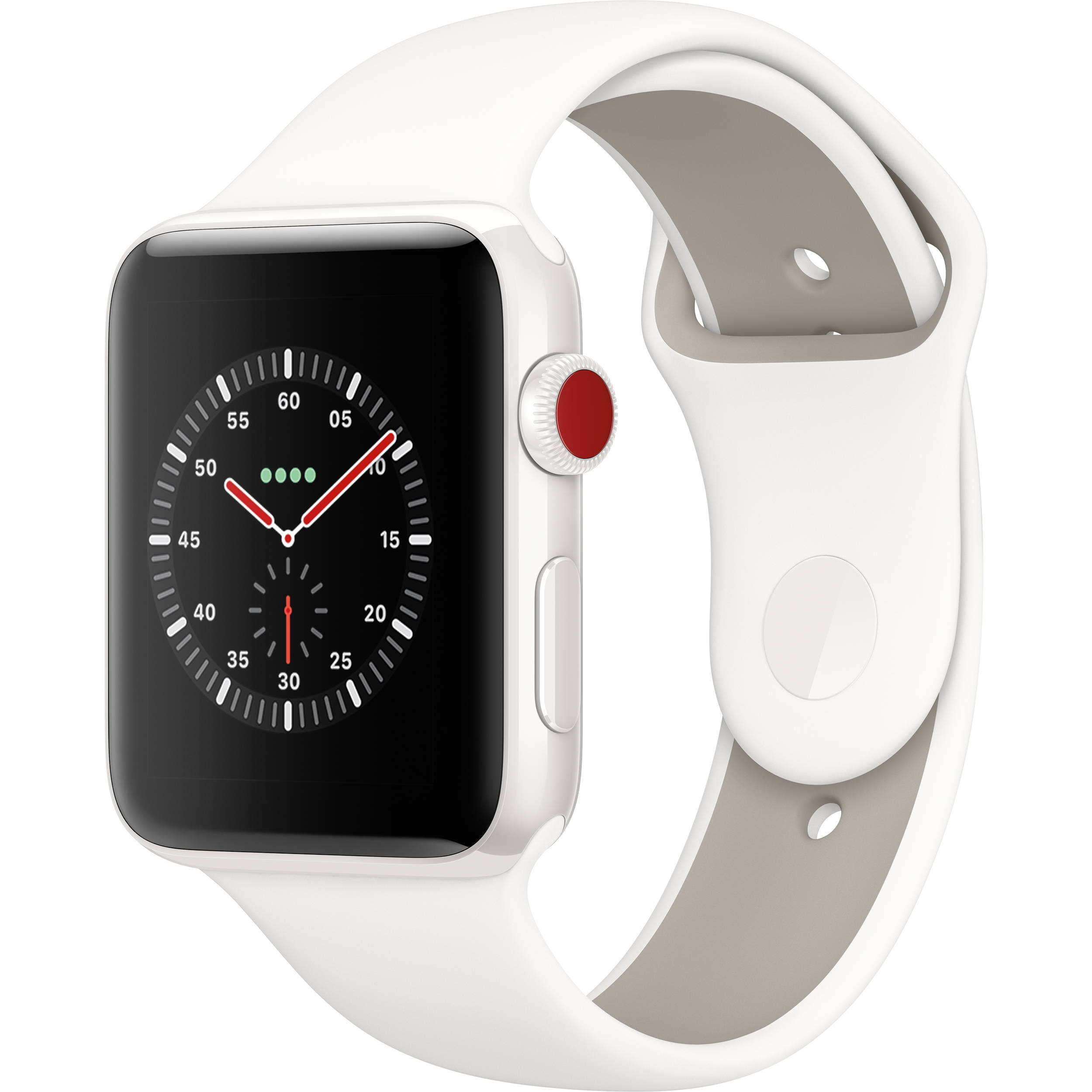 Apple Watch Edition Series 3 42mm Smartwatch Mqkd2ll A B Amp H