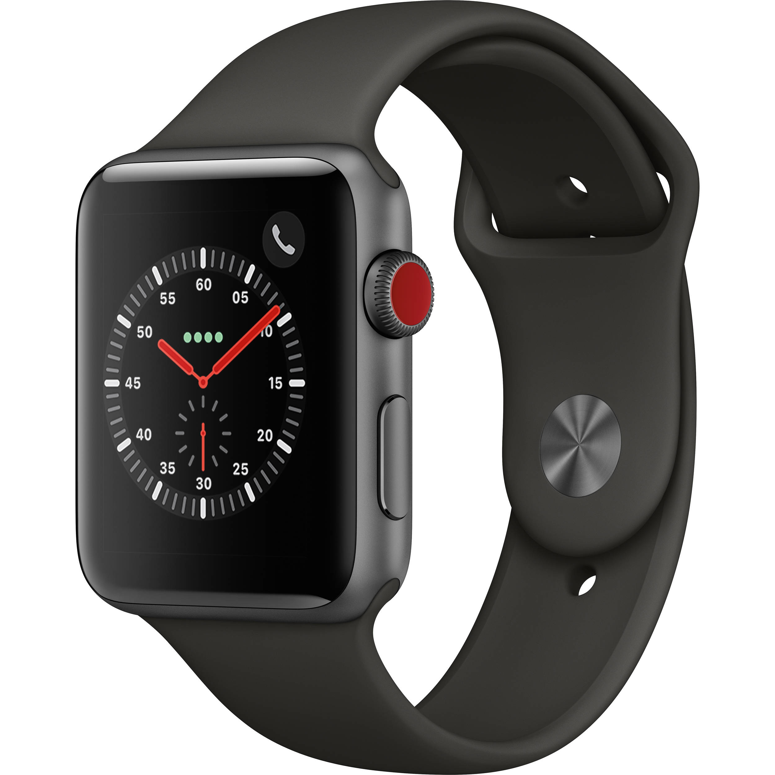 4fdb1bcc9b2 Apple Watch Series 3 42mm Smartwatch MR2X2LL A B H Photo Video
