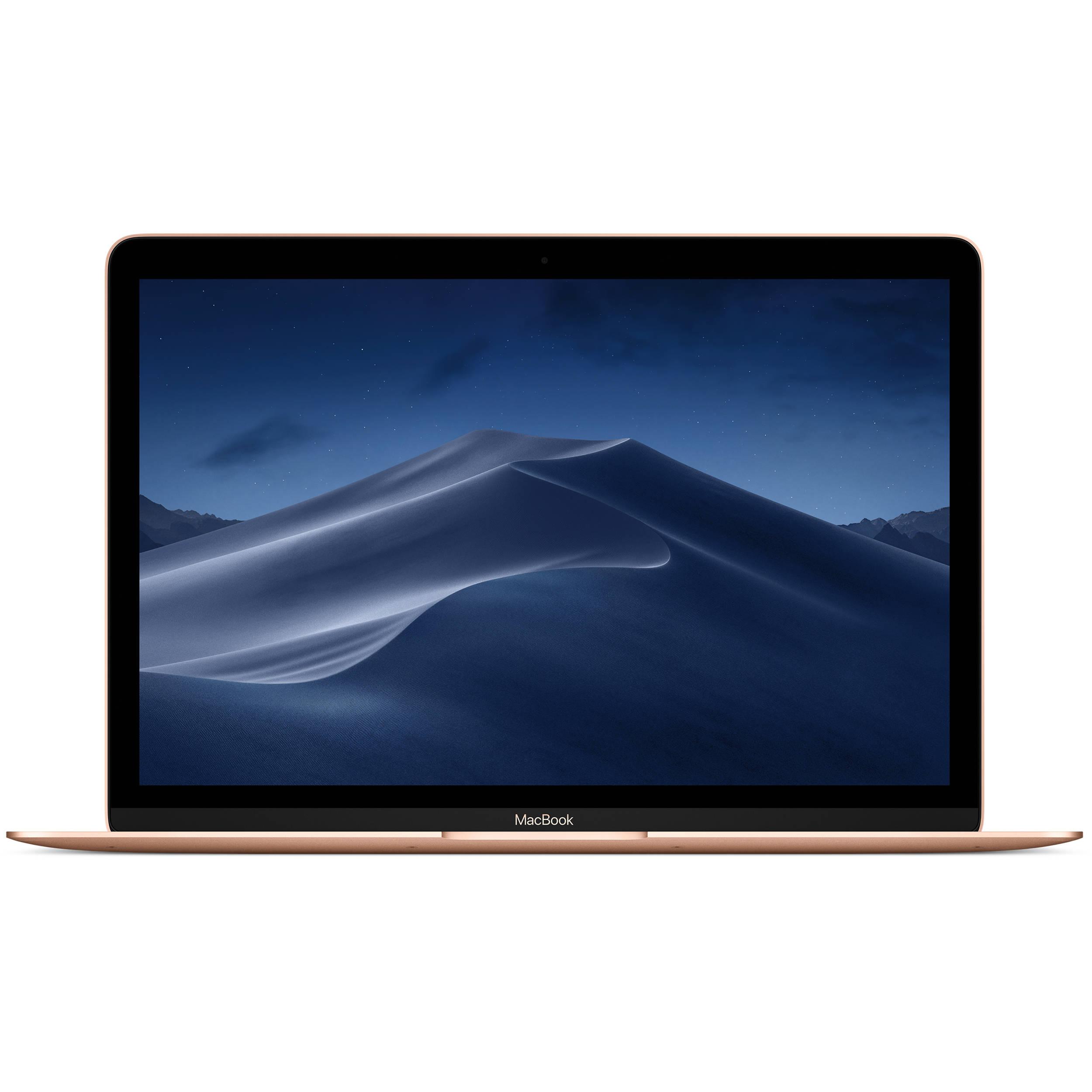 "Apple - MacBook 12"" Retina Display - Intel Core i5 - 8GB Memory - 512GB Flash Storage (Latest Model) - Gold"