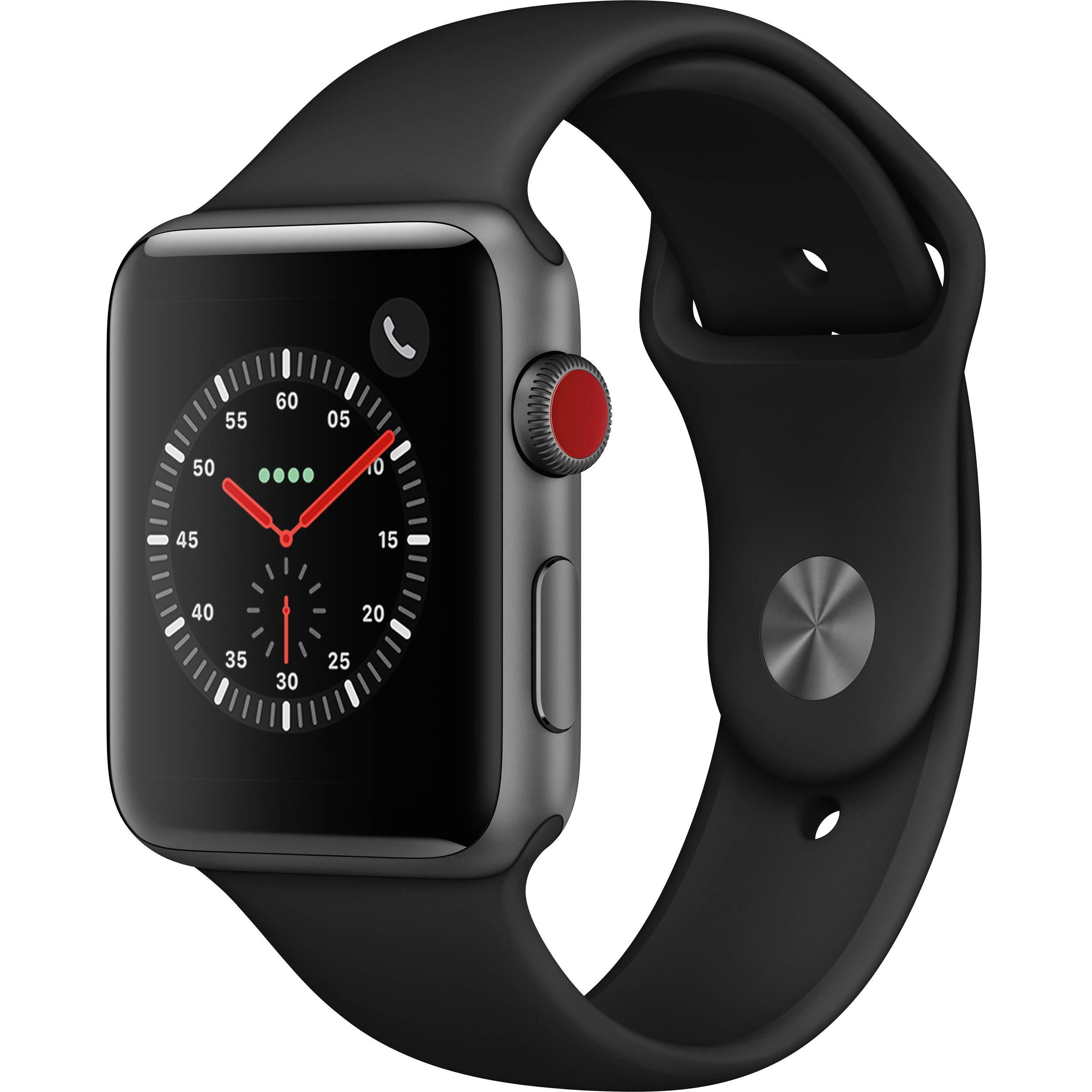 Apple Watch Series 3 42mm Smartwatch MTGT2LL A B H Photo Video f20743a5a00