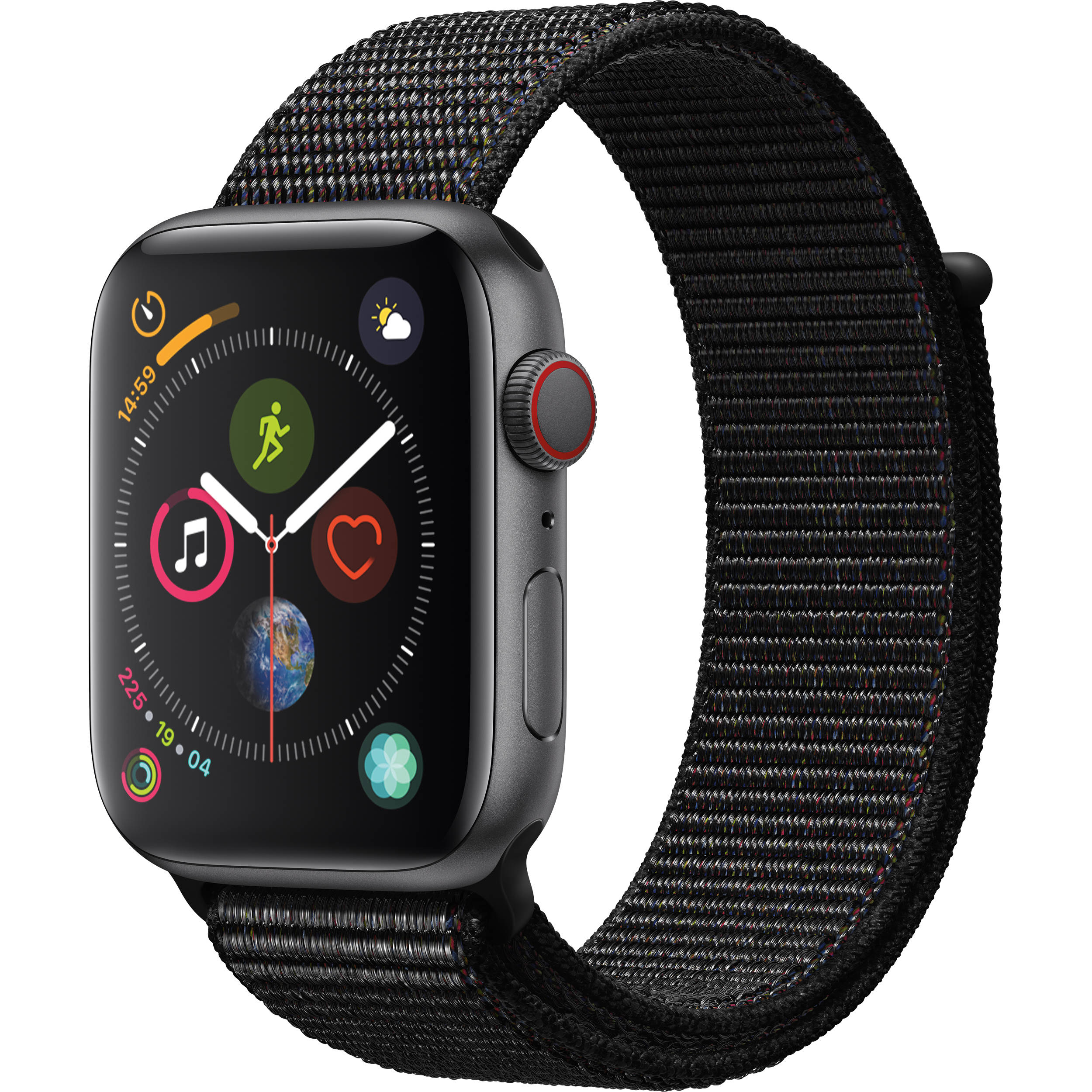 Apple watch series 4 mtux2lla bh photo video apple watch series 4 gps cellular 44mm space gray aluminum black keyboard keysfo Image collections