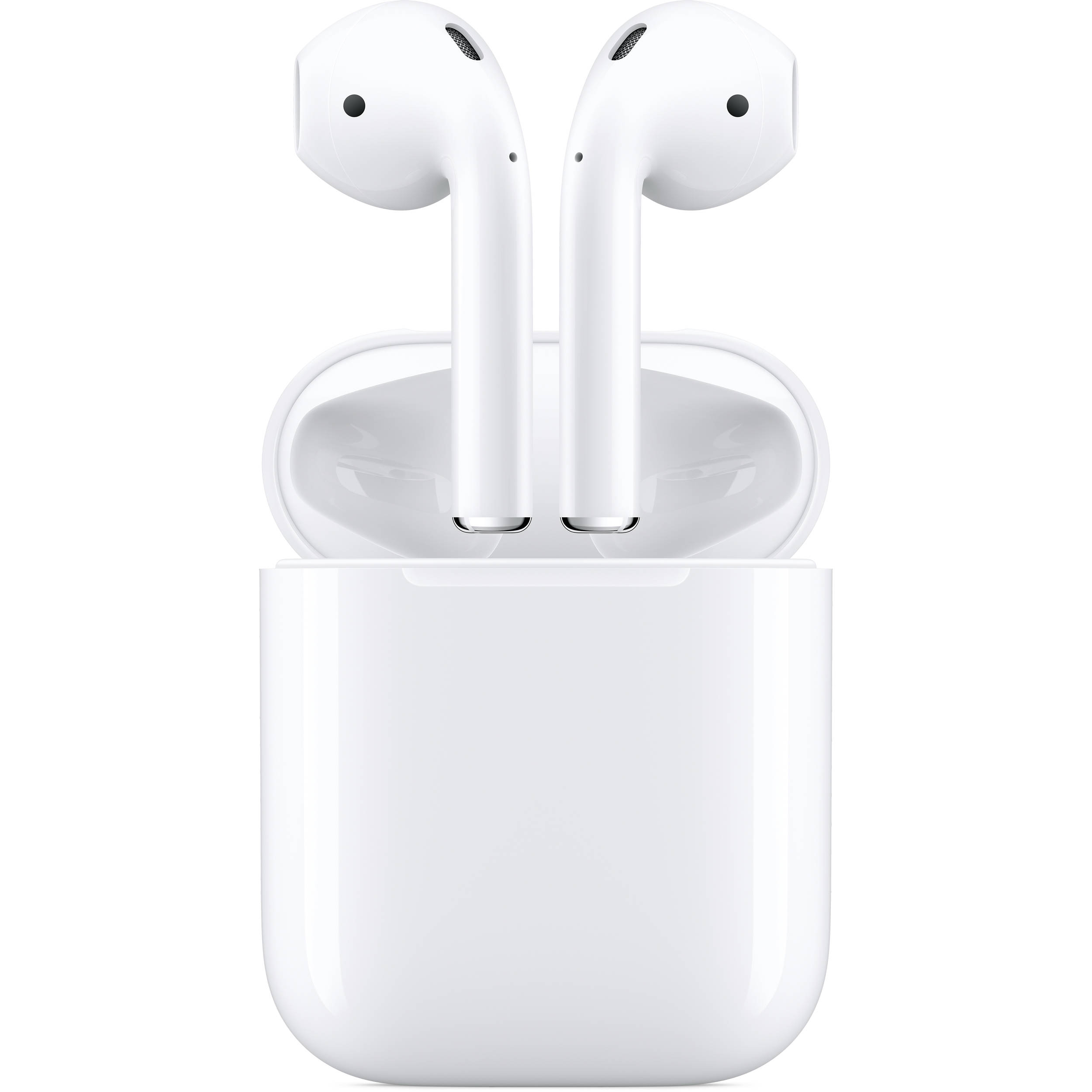 d29c2cc970b Apple AirPods with Charging Case (2nd Generation) MV7N2AM/A B&H