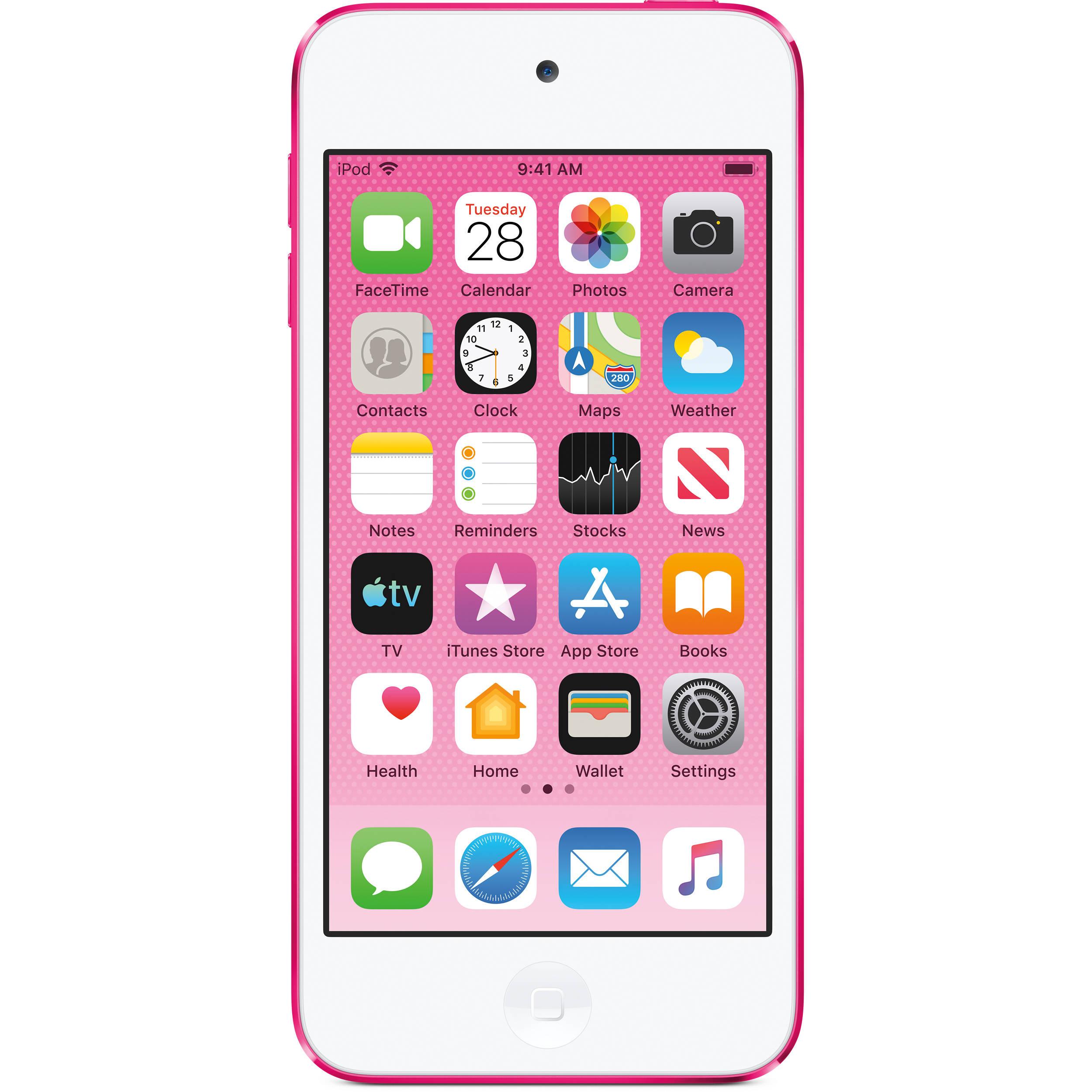 Apple 256gb Ipod Touch 7th Generation Pink Mvj82ll A B H