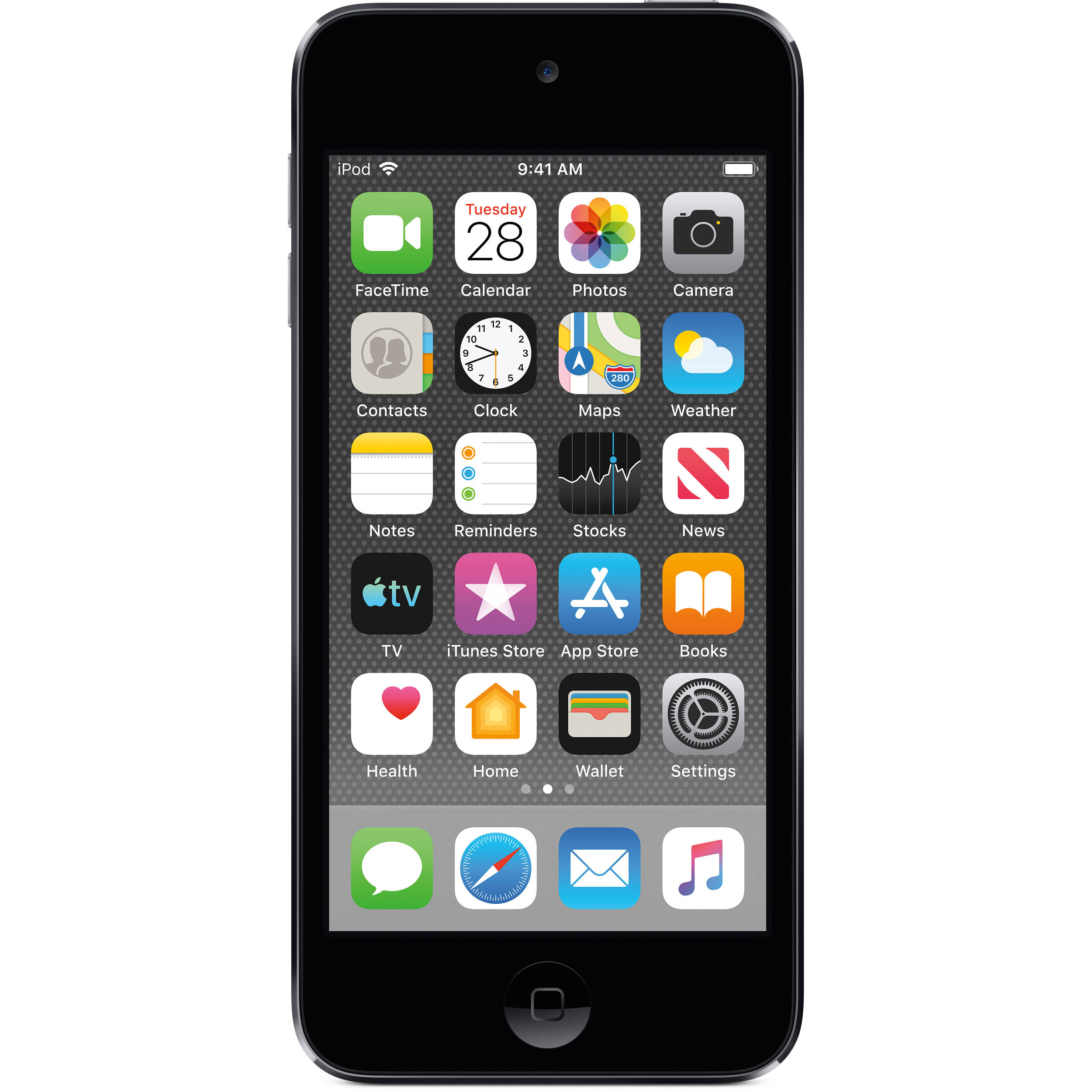touch ipod 7th apple 32gb generation space gray 256gb 128gb features key a10 adorama bhphotovideo retina display
