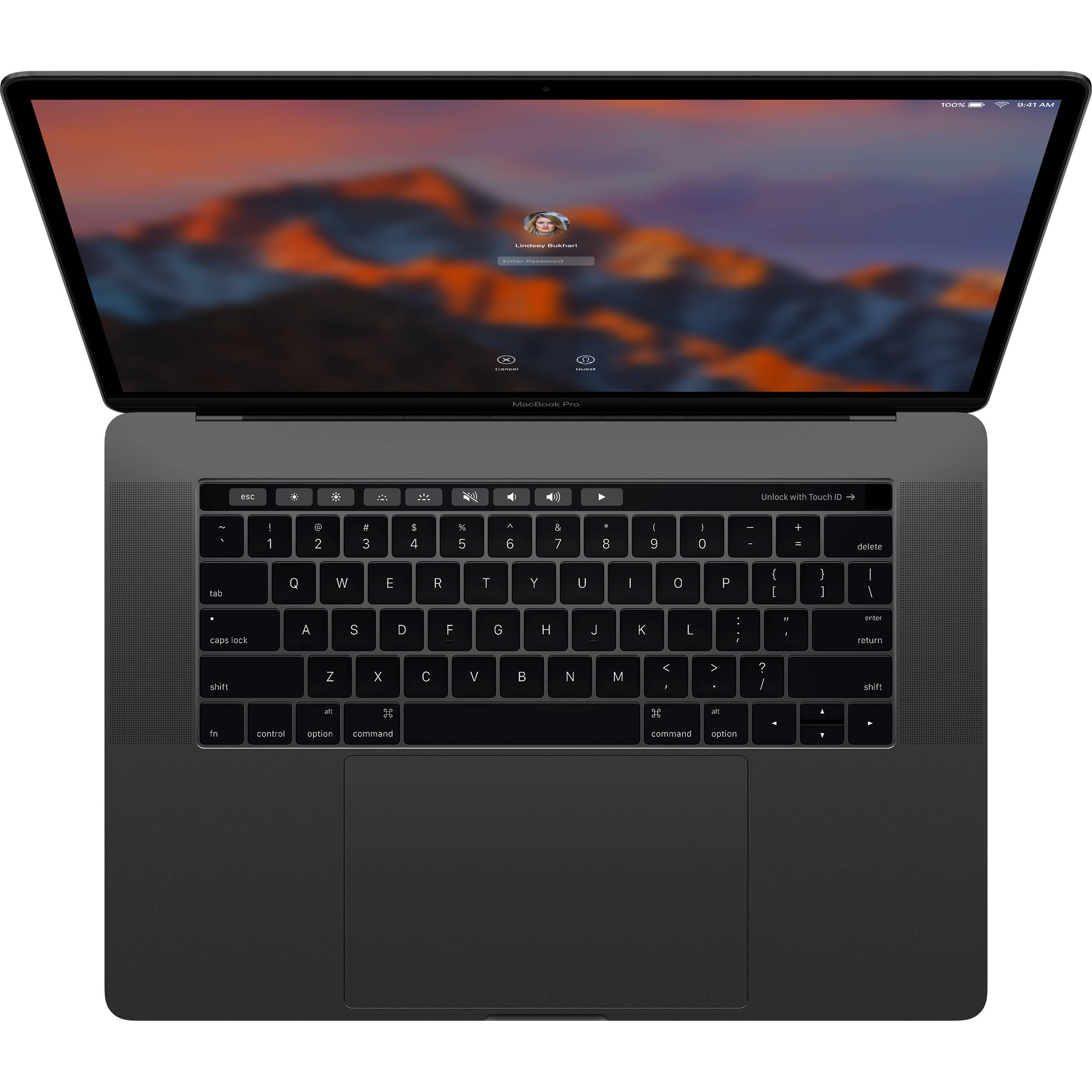 Apple 154 Macbook Pro With Touch Bar Z0sh0000n Bh Photo Kaos Welder Welding 3dimensi 2 Late 2016