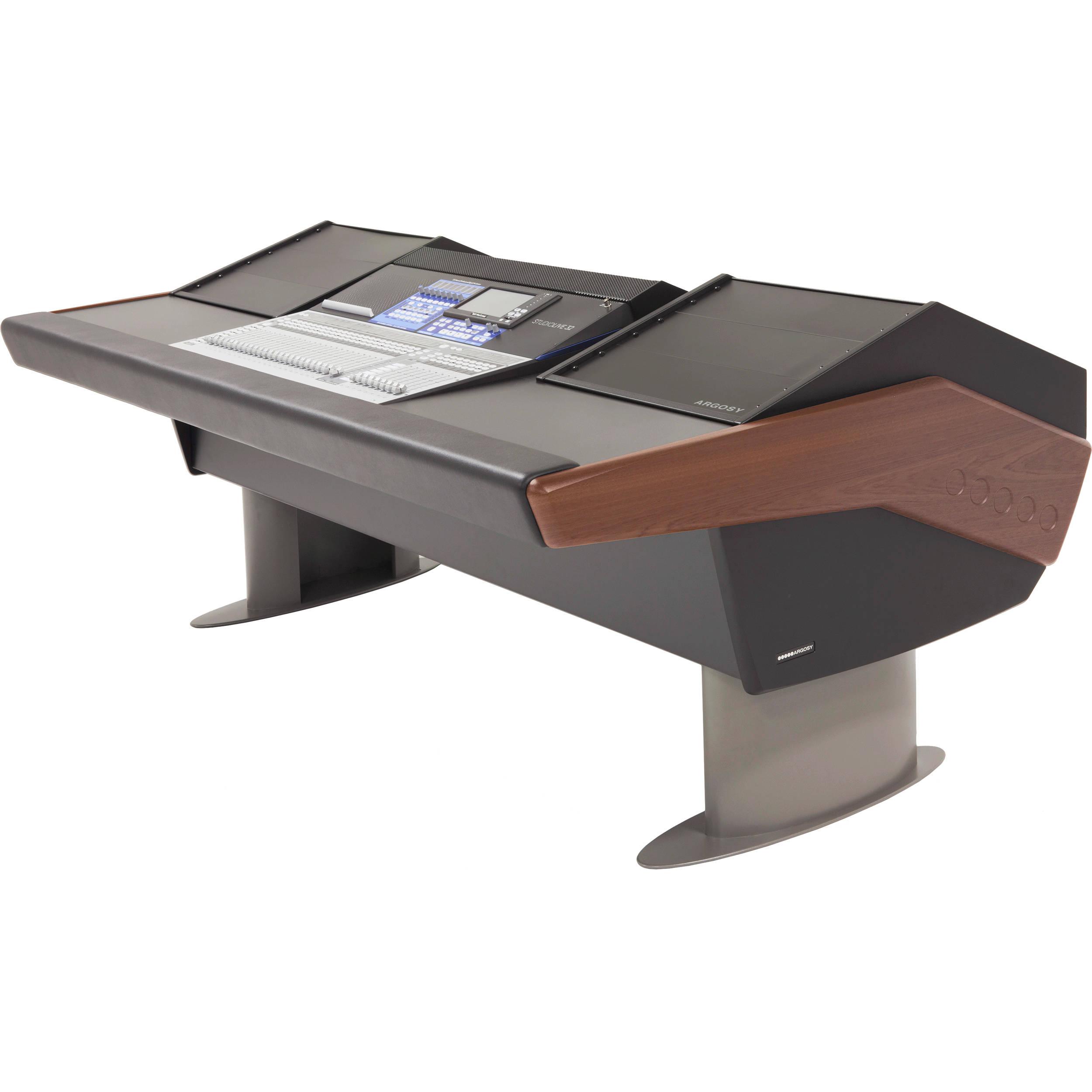 Argosy G Series Desk For Presonus G25 Psl32s3 Rr9 B M Bh 2 Way Hdmi Switch Argos Studiolive Iii 32 Channel Console Mahogany Trim
