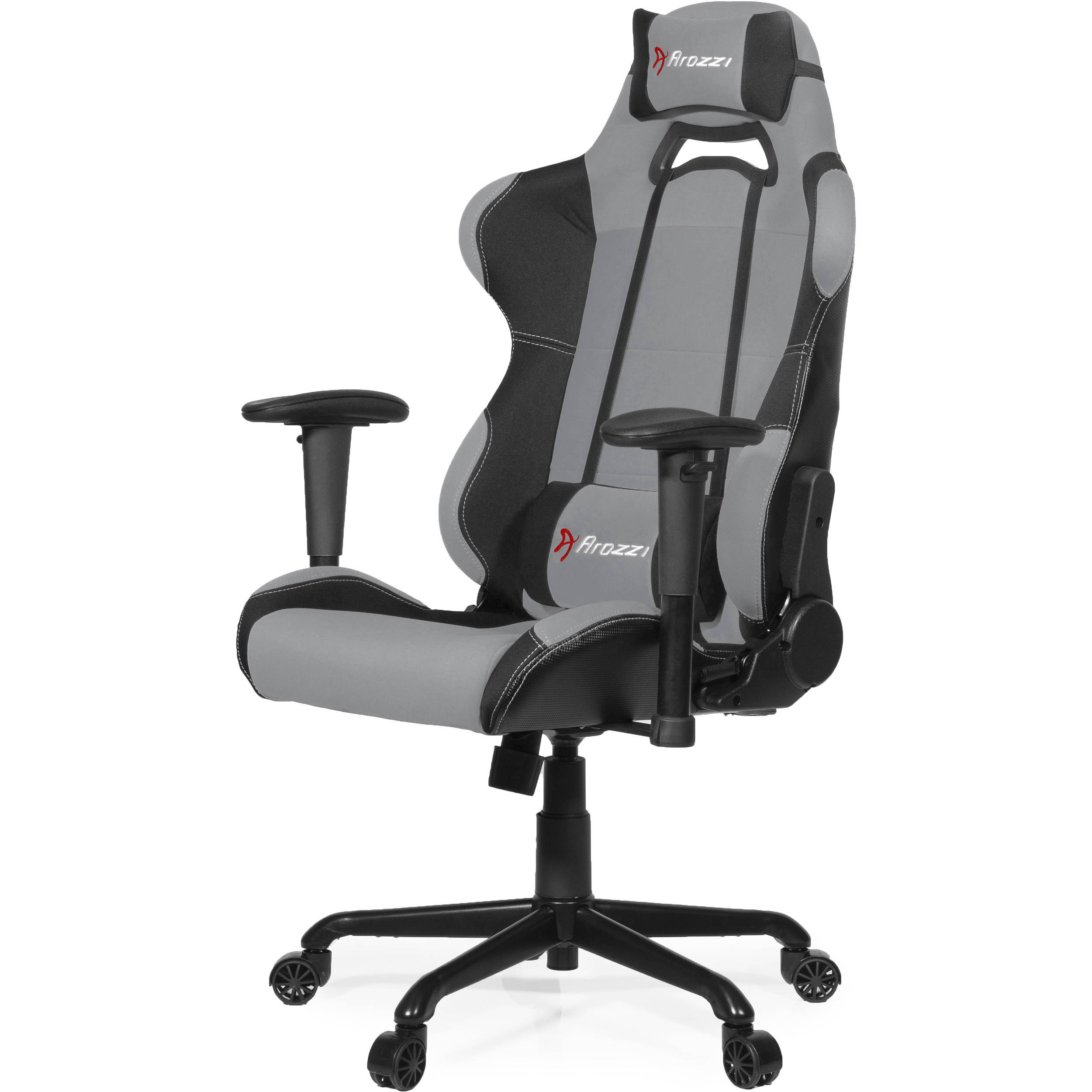 Arozzi Torretta Gaming Chair Gray Torretta Gy B Amp H Photo