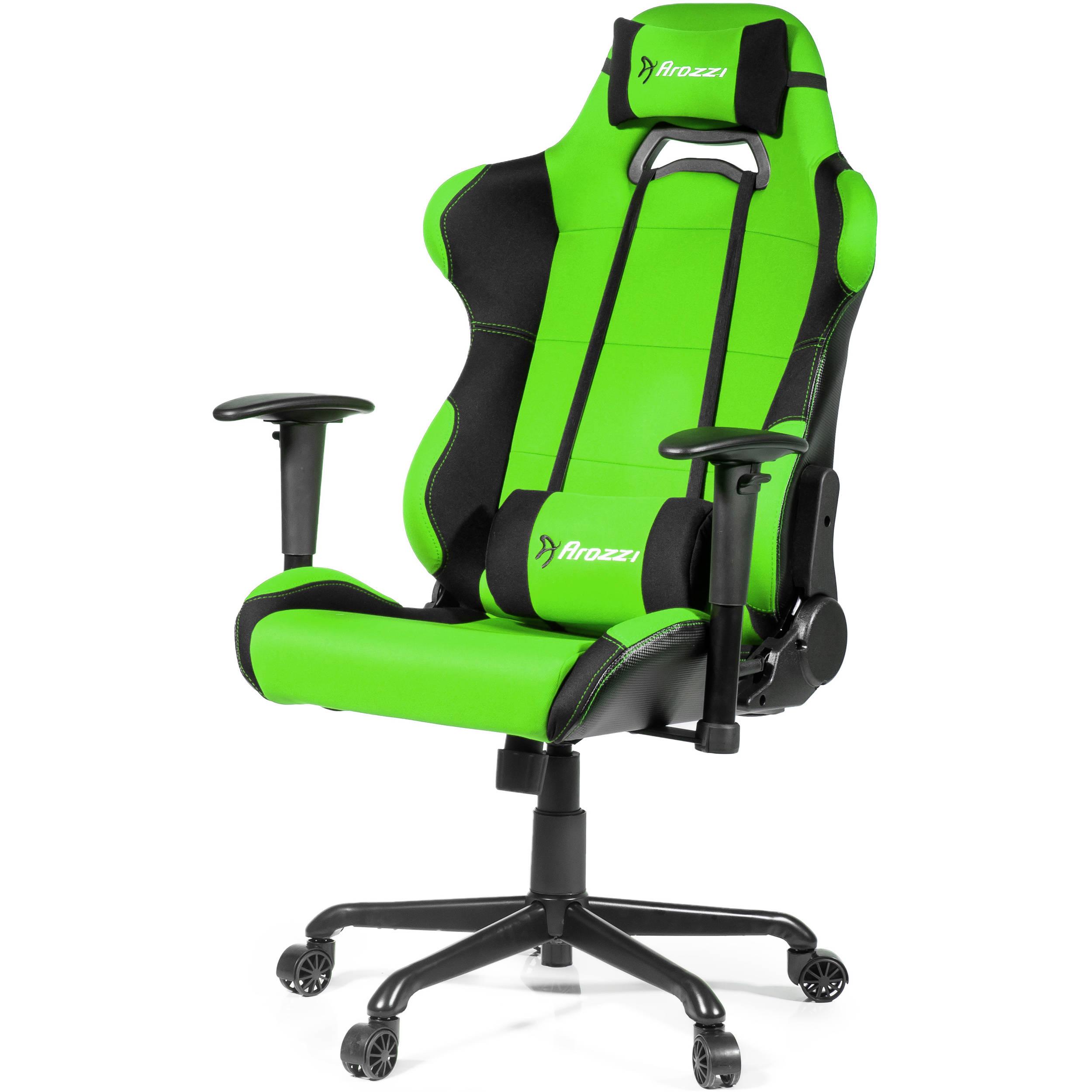 Arozzi Torretta XL Gaming Chair (Green) TORRETTA-XLF-GN B&H